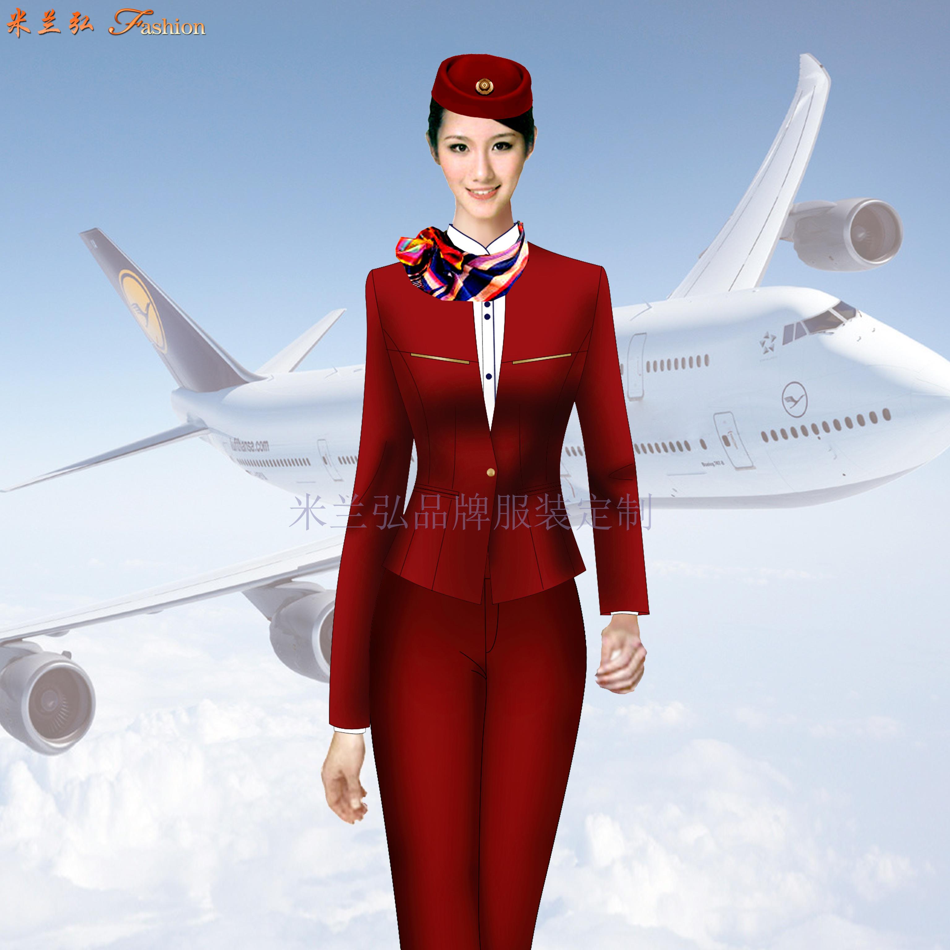 青島空姐服定制_即墨區空姐服訂制_膠州市空姐服定做👍-5