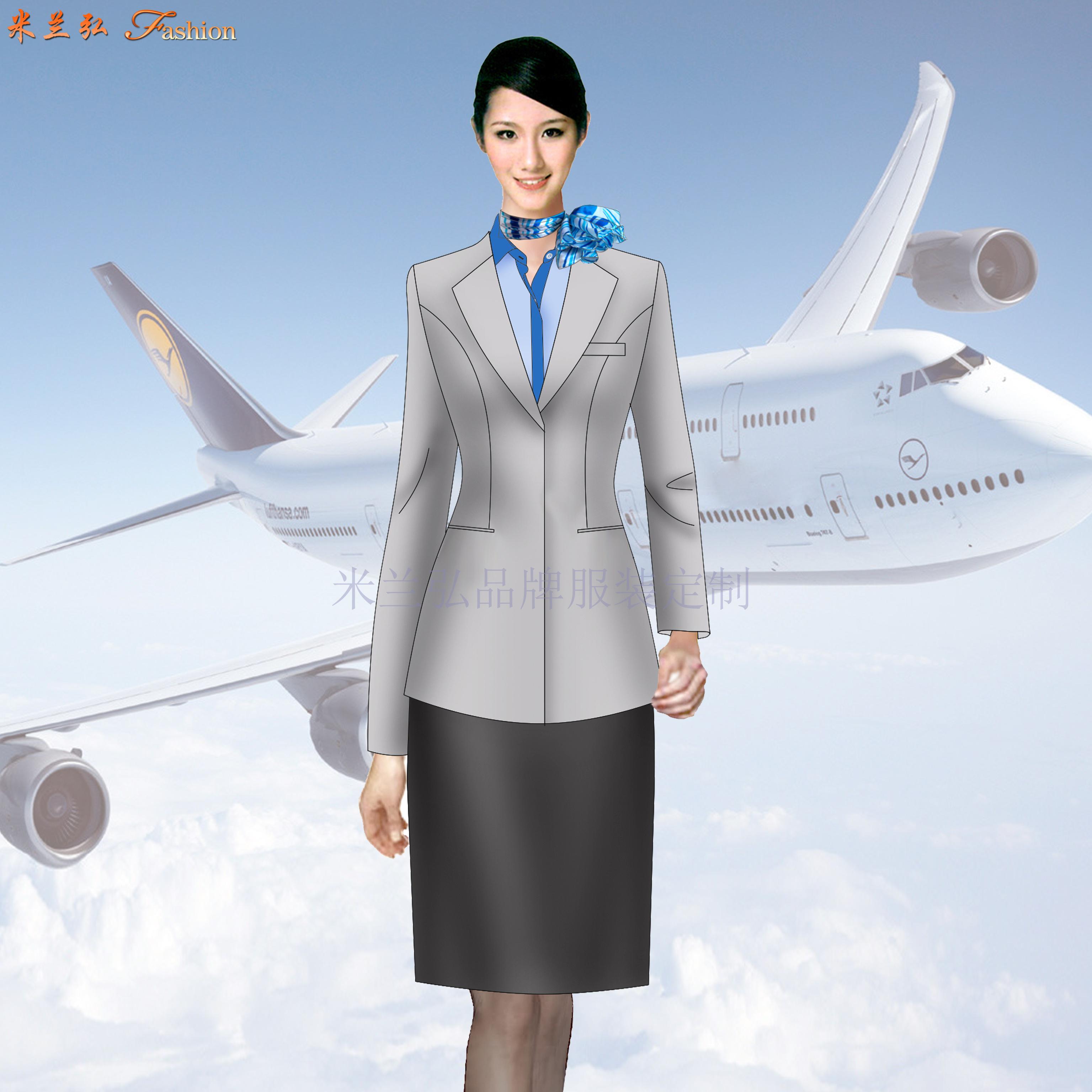 「廊坊定制航空公司空姐服」「廊坊定做醫院導醫空姐服」-米蘭弘-2