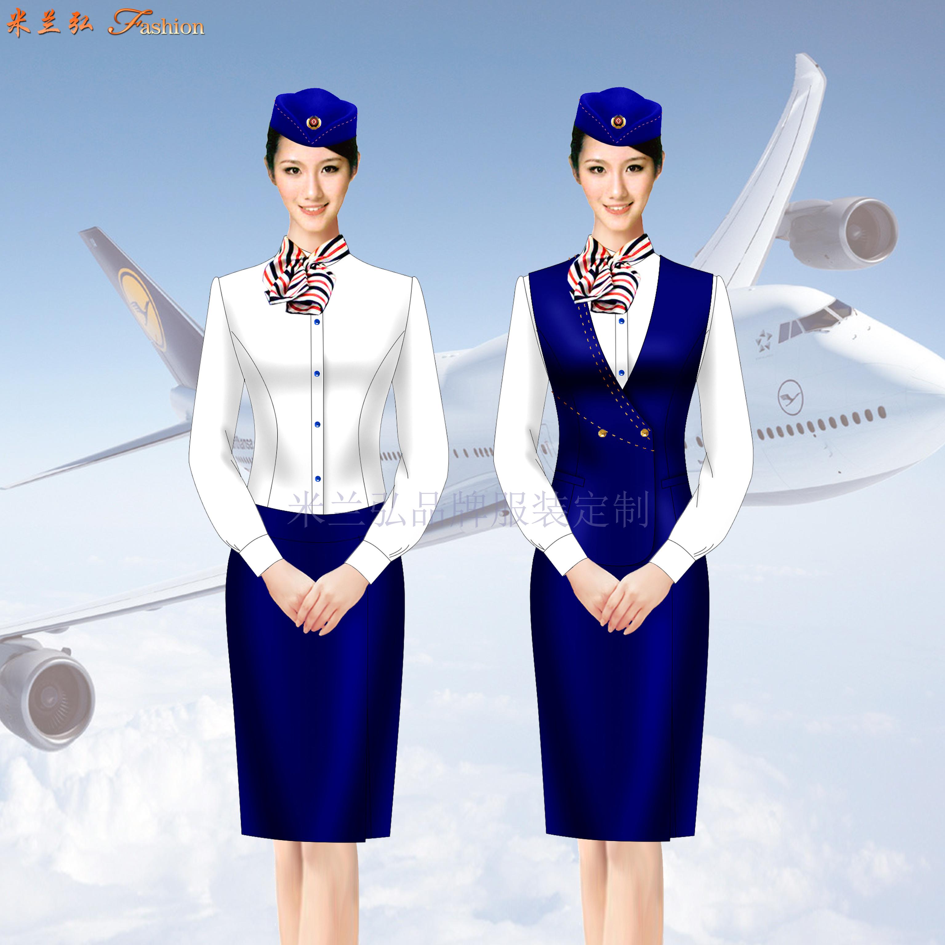 「廊坊定制航空公司空姐服」「廊坊定做醫院導醫空姐服」-米蘭弘-3