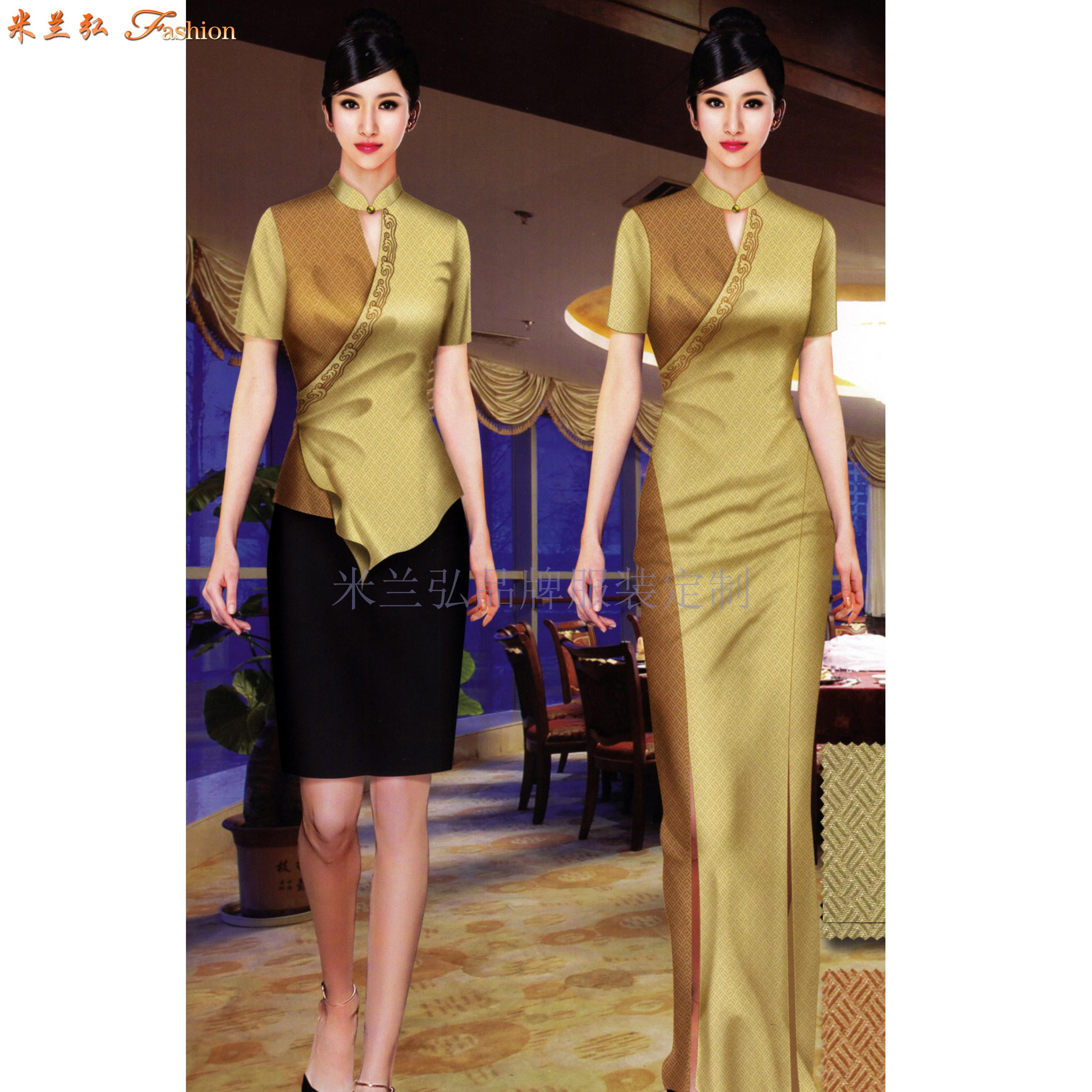 「廊坊酒店服裝定做」推薦設計制作五星酒店制服十年廠家-米蘭弘-4
