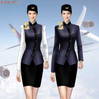 「廊坊空姐服定做」「廣陽空姐服定制」「安次空姐服訂制」-4