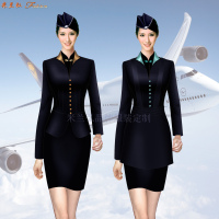 「廊坊空姐服定做」「廣陽空姐服定制」「安次空姐服訂制」-5