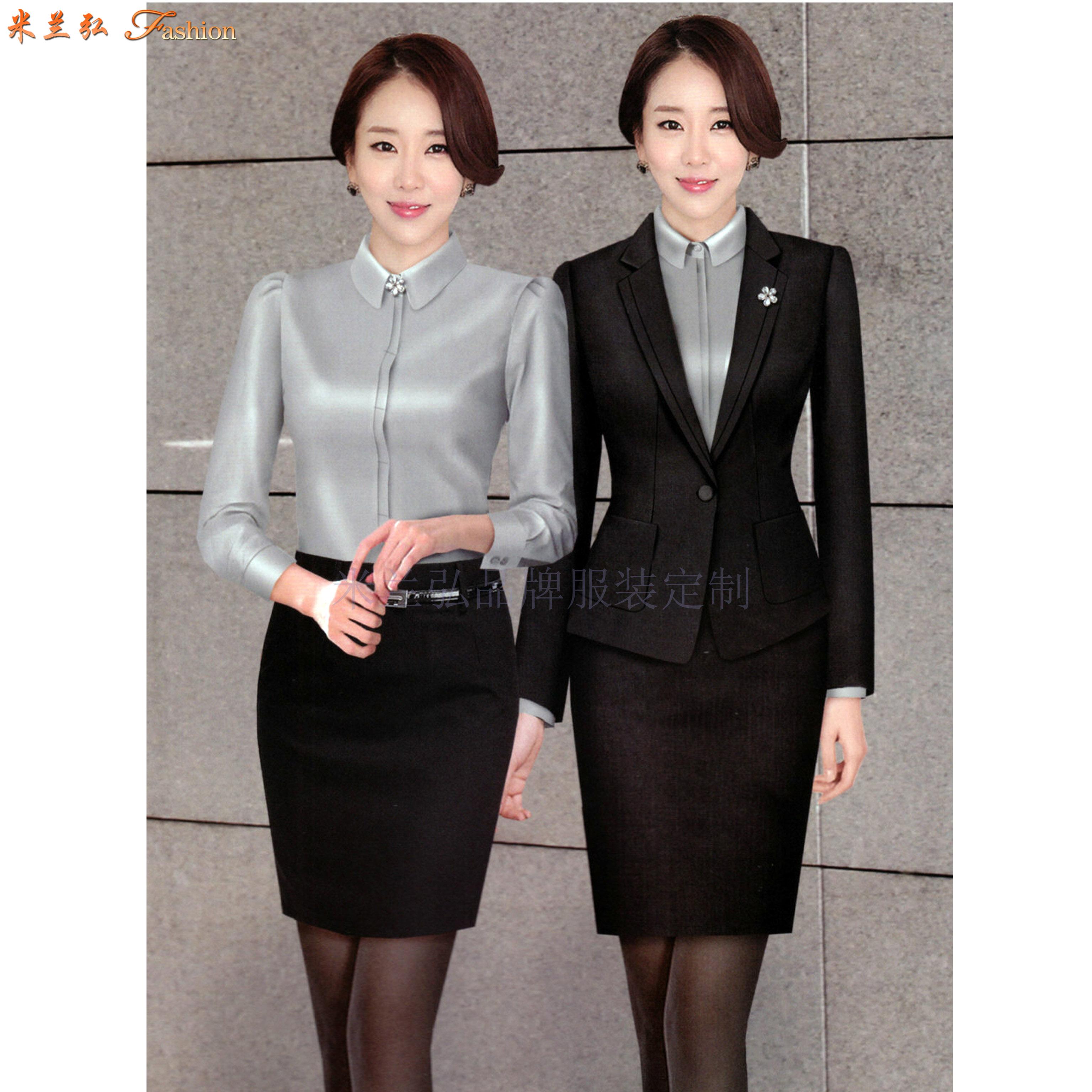 「北京商務西服定制公司」推薦誠信靠譜的米蘭弘品牌西服-2