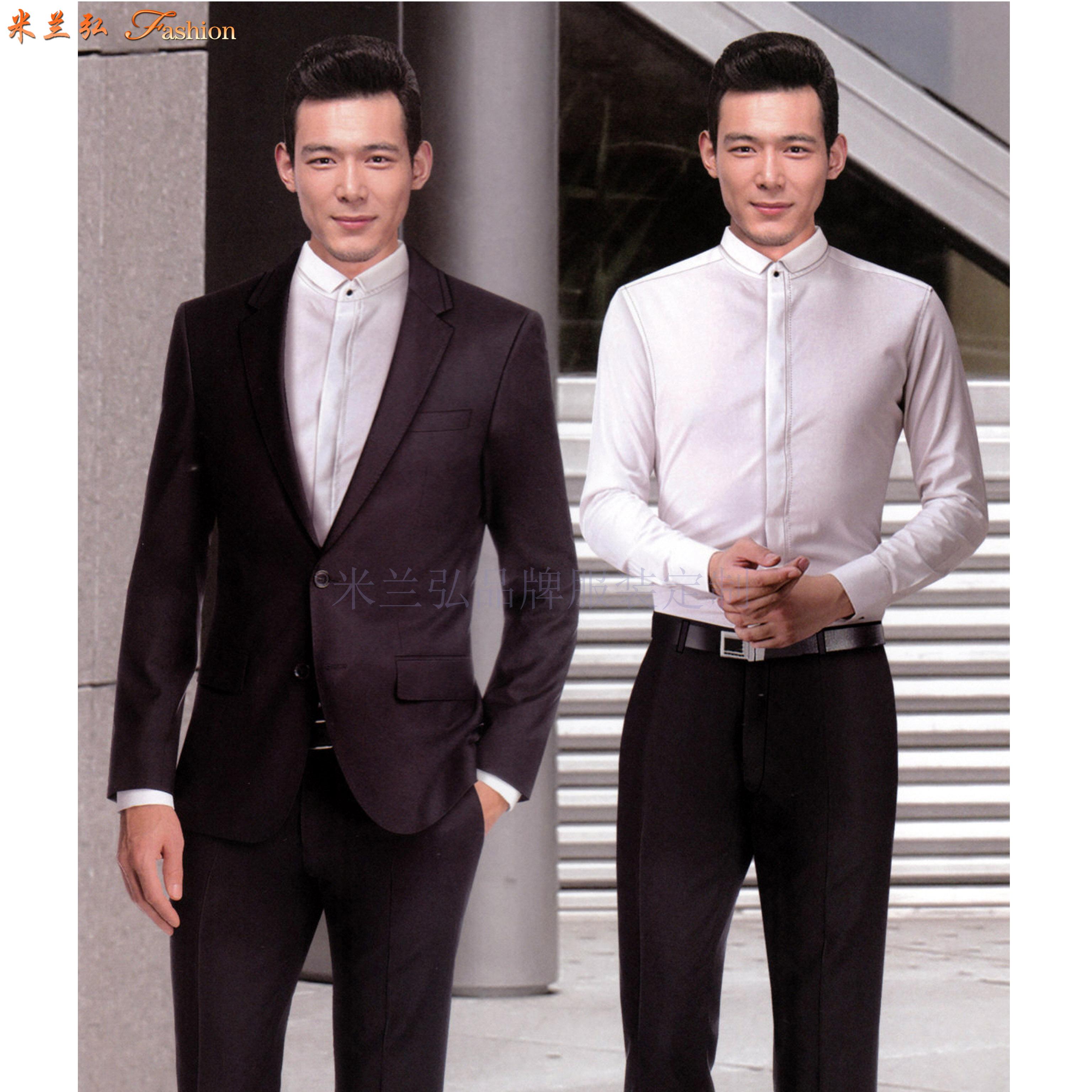 「北京商務西服定制公司」推薦誠信靠譜的米蘭弘品牌西服-3