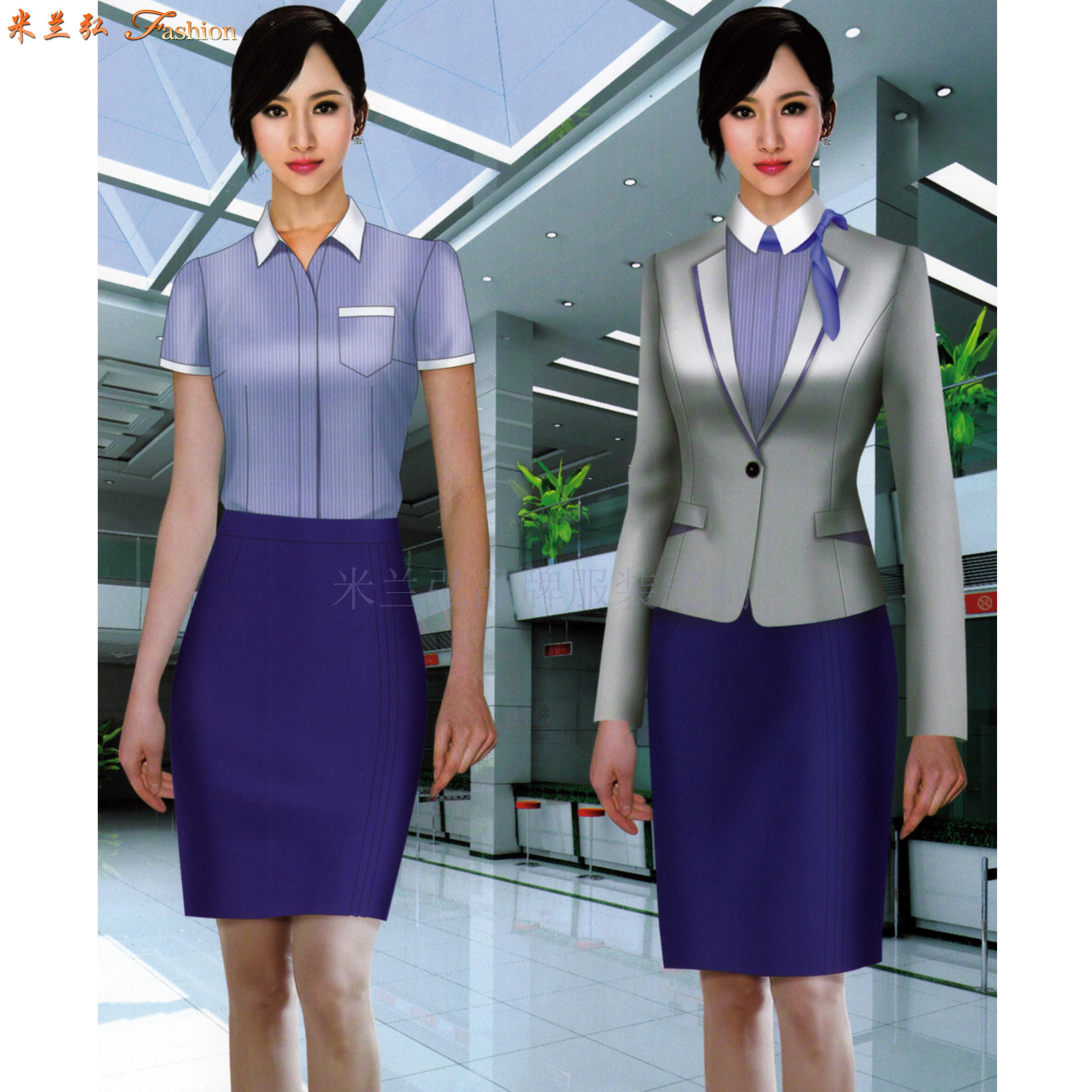 「機場地勤服裝定制」「值機工作服定做」「機場客服職業裝訂制」-1