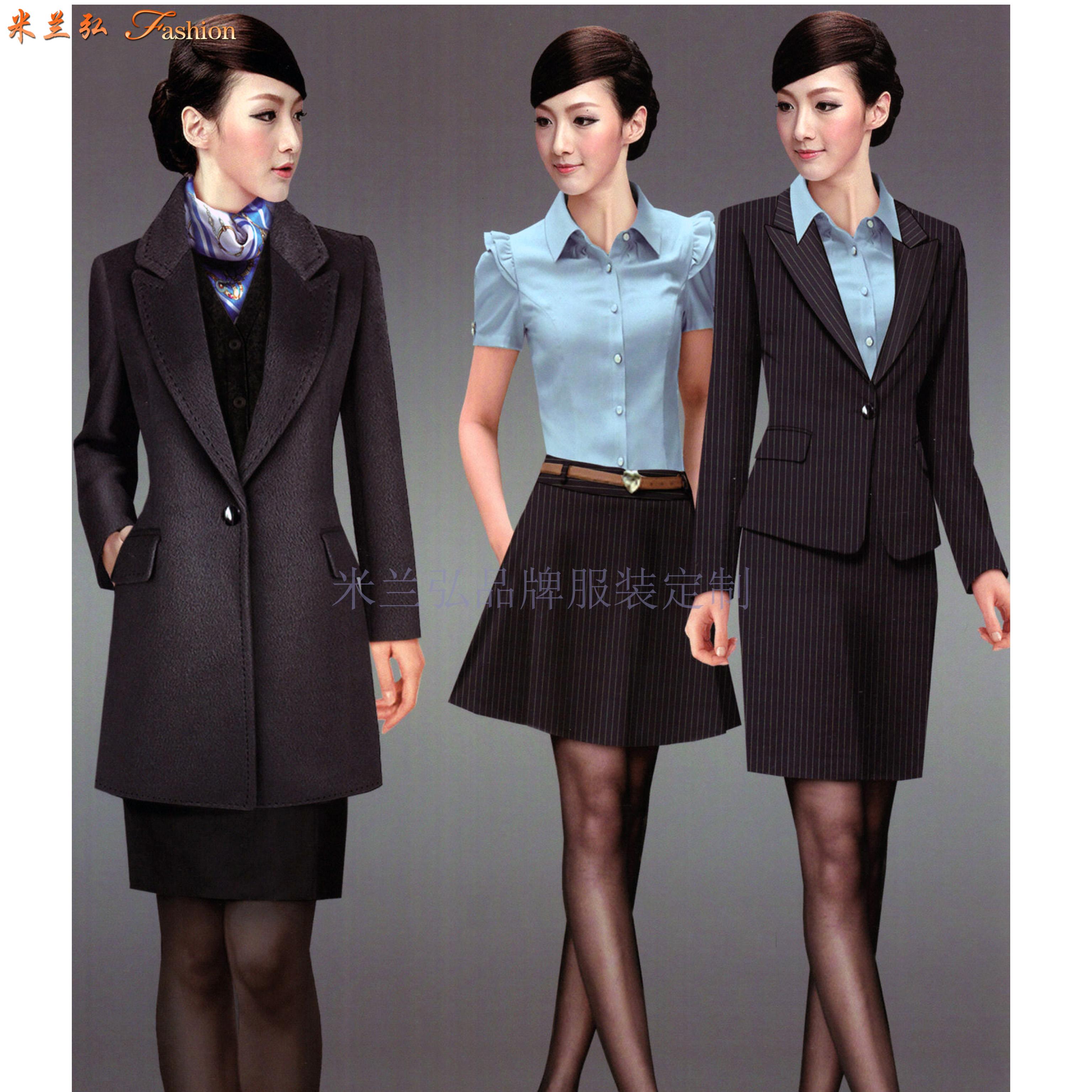 「北京工作西服定做廠家」選擇免費上門量體米蘭弘服裝公司-3