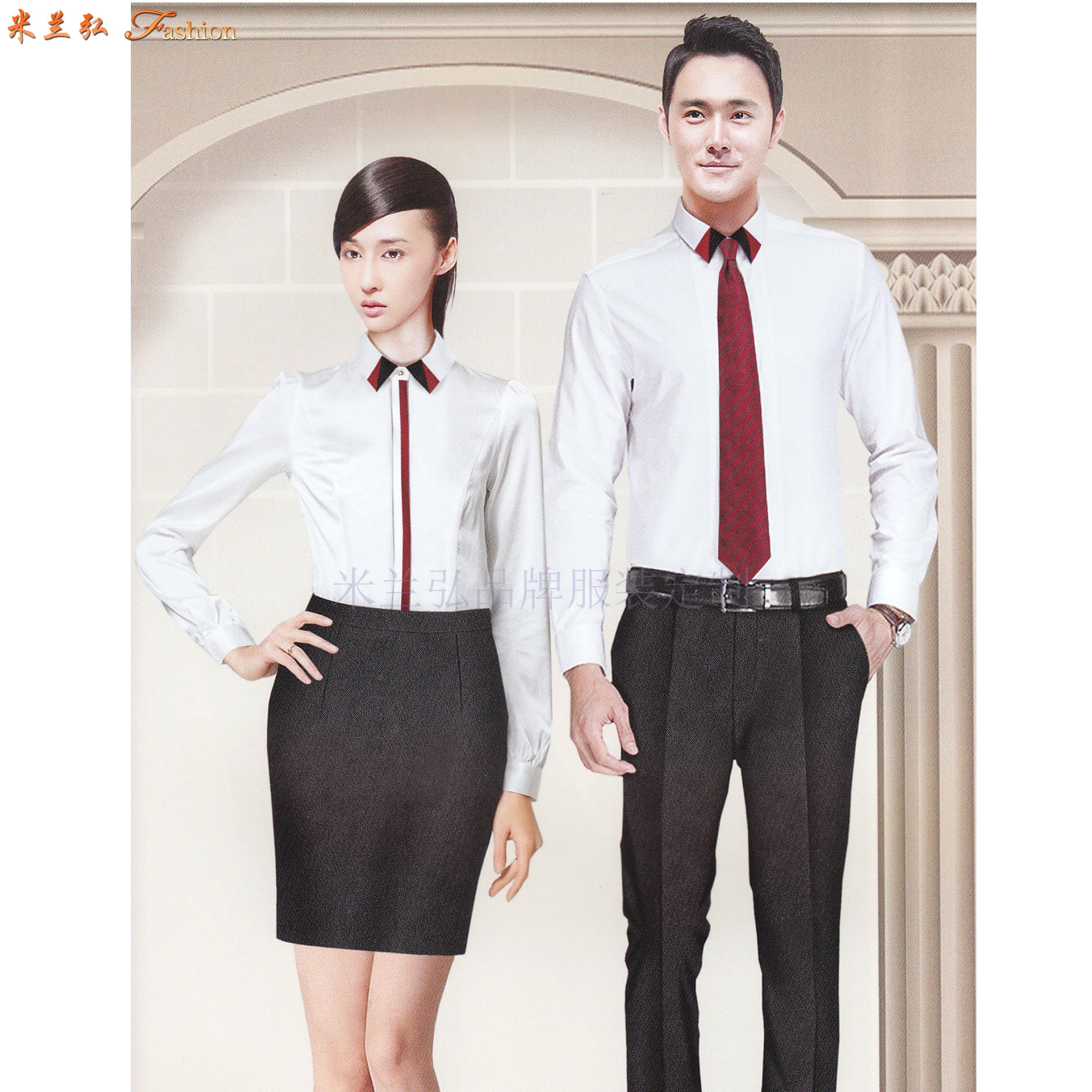 「高級襯衫定制」「私人襯衫定做」品牌襯衫訂制廠家-米蘭弘-3
