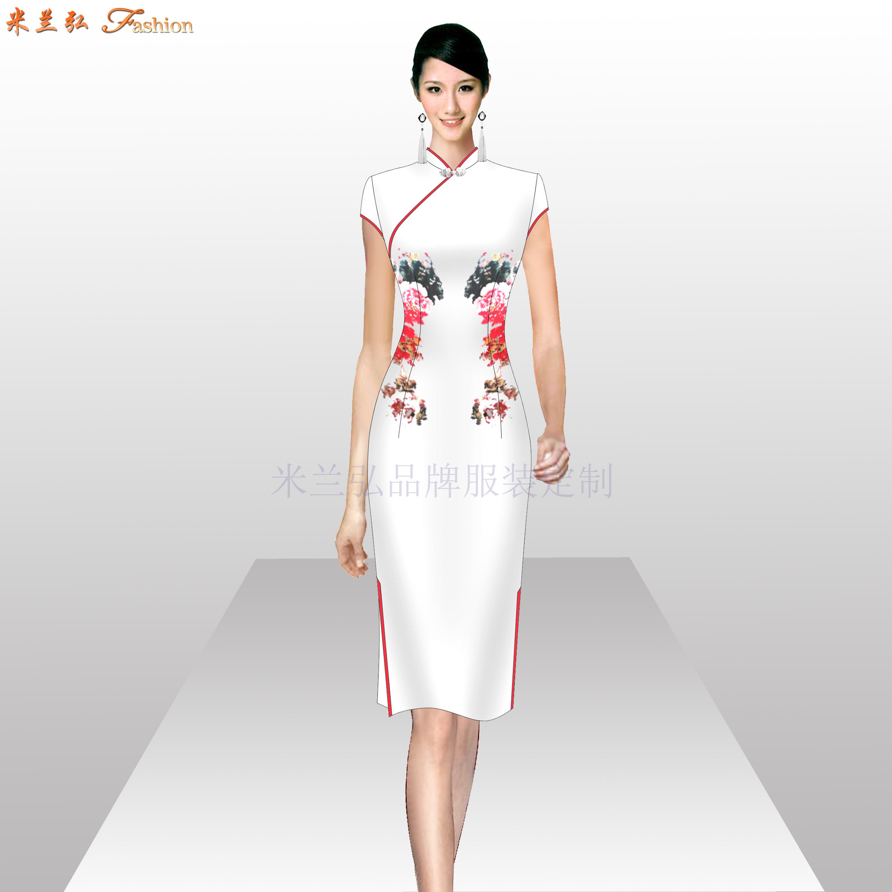 「手工定制旗袍」「量身訂制旗袍」-米蘭弘品牌服裝-1