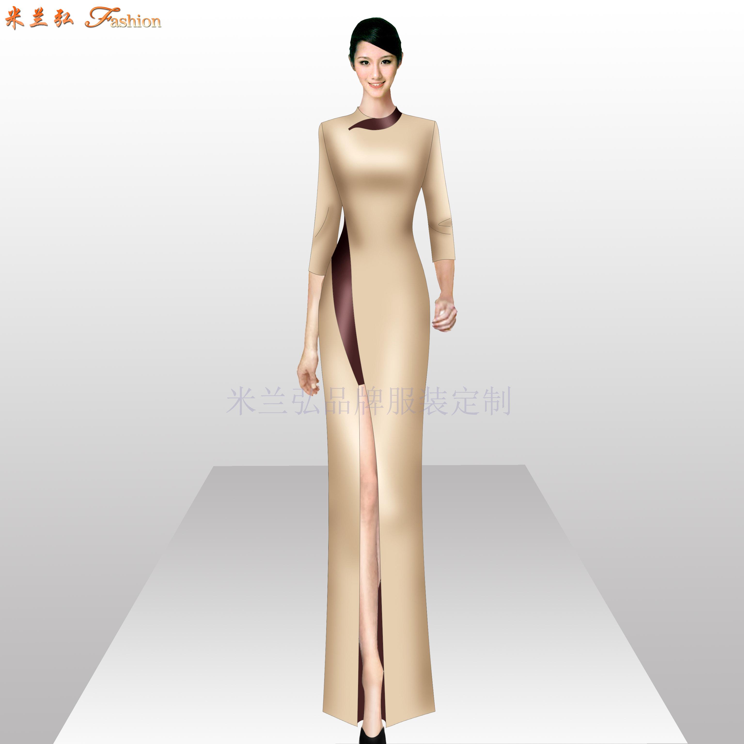 「手工定制旗袍」「量身訂制旗袍」-米蘭弘品牌服裝-3