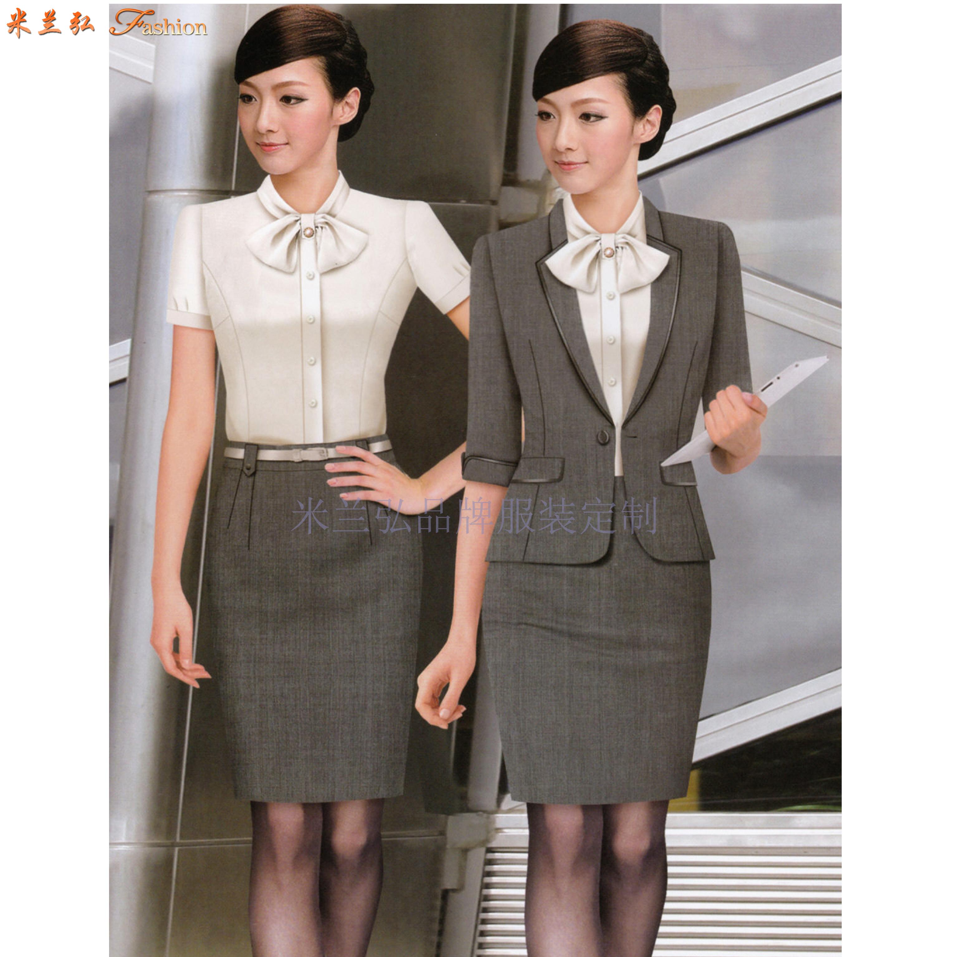「職業裝」北京量身定制訂做通勤職業裝的靠譜公司-米蘭弘服裝-2