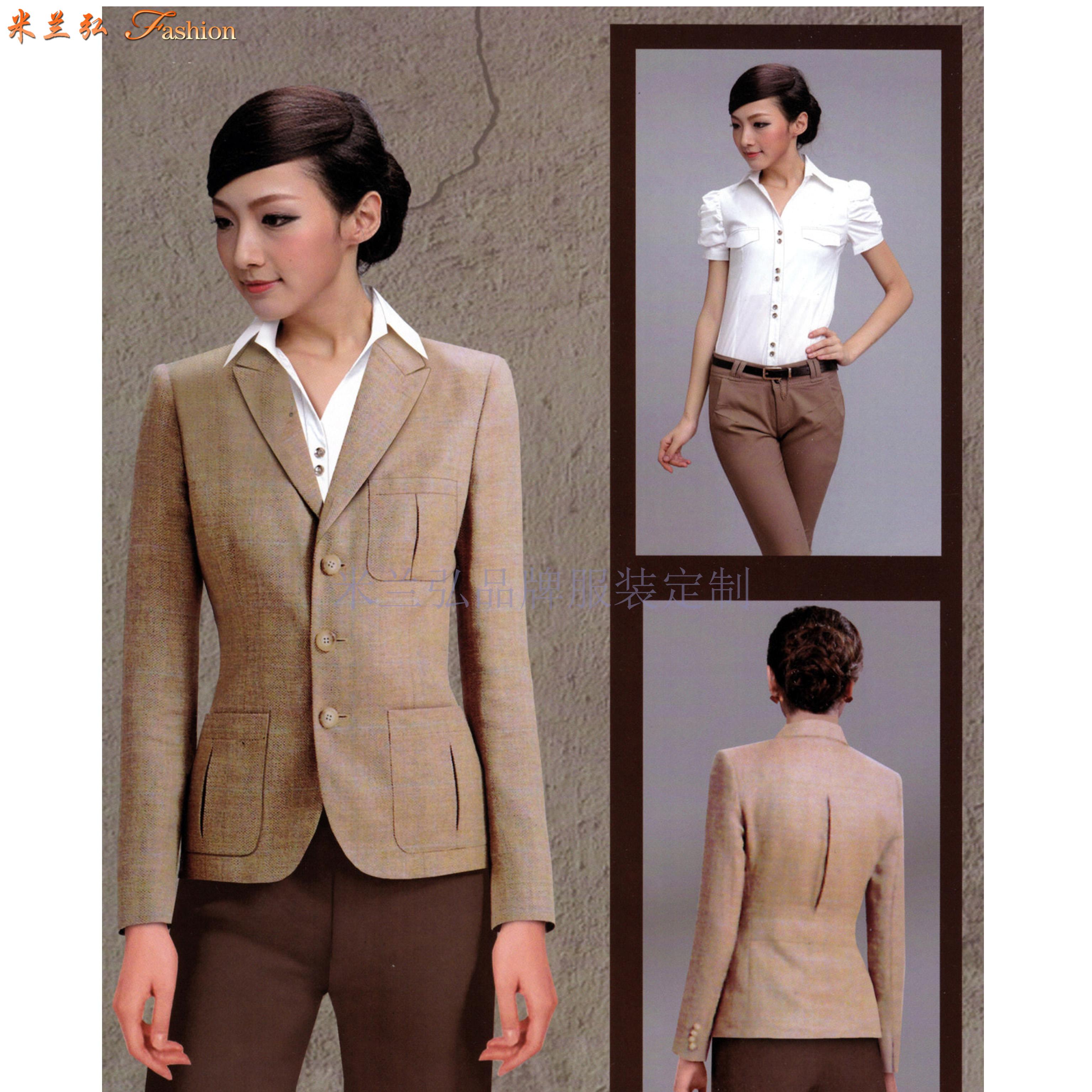 「職業裝」北京量身定制訂做通勤職業裝的靠譜公司-米蘭弘服裝-3