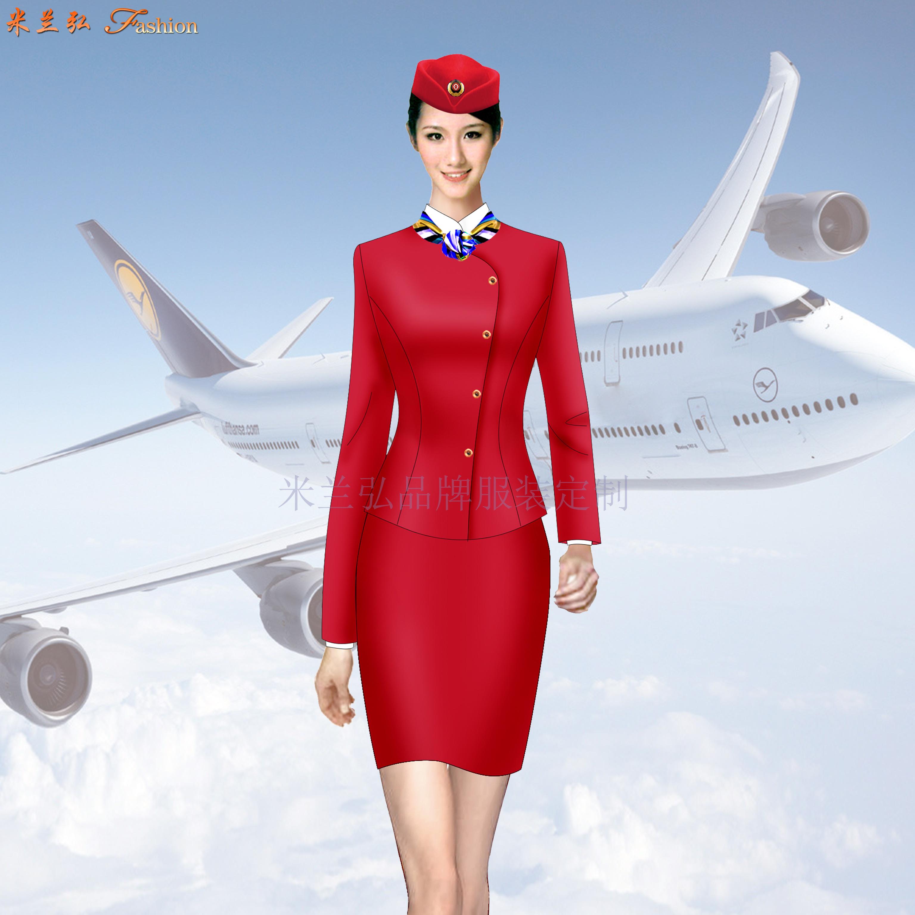 「空姐服」北京量體定制訂做潮流空姐服的誠信公司-米蘭弘服裝-4