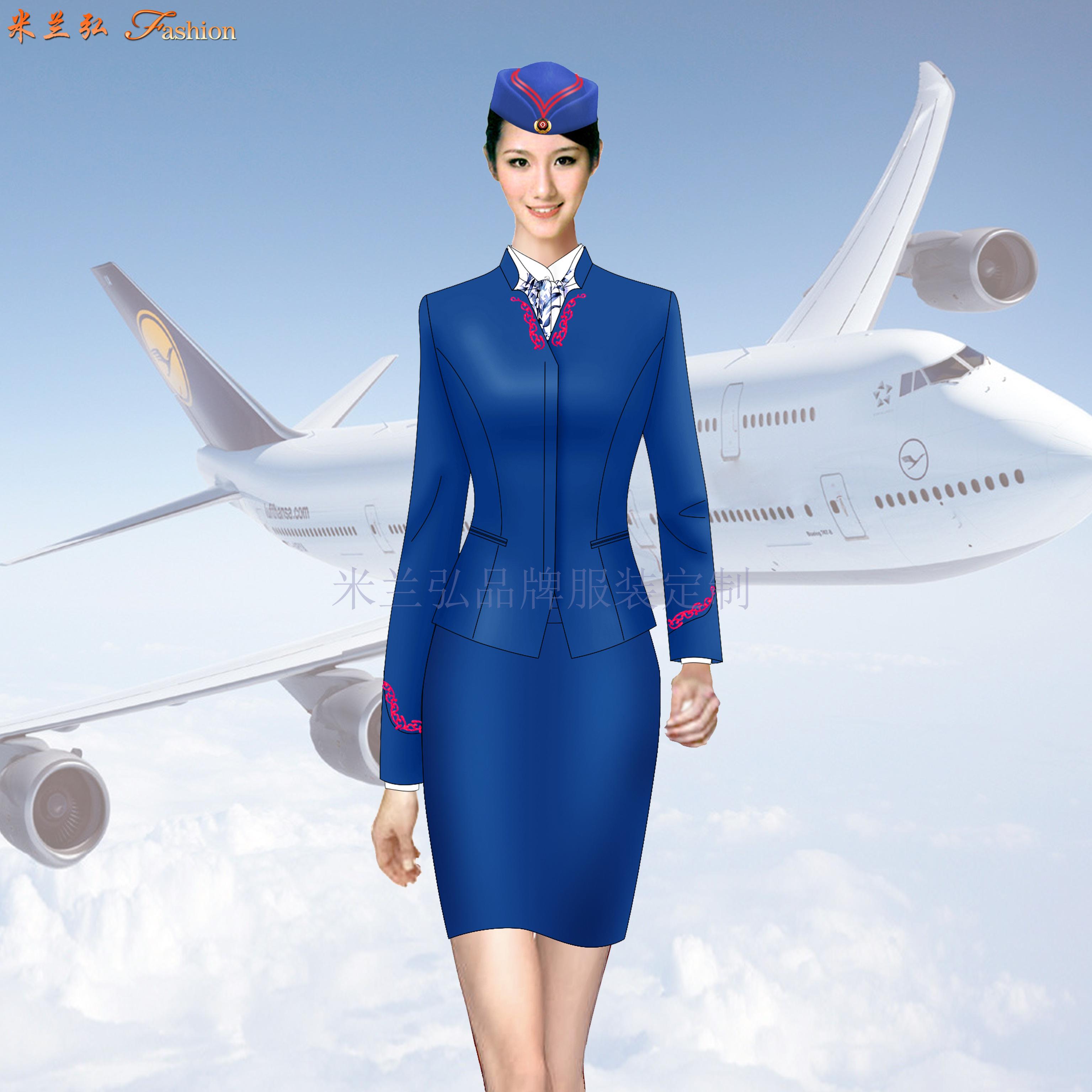 「空姐服」北京量體定制訂做潮流空姐服的誠信公司-米蘭弘服裝-5