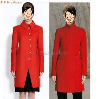 「大衣」北京量體定制訂做呢子羊毛大衣的質優廠家-米蘭弘服裝-2
