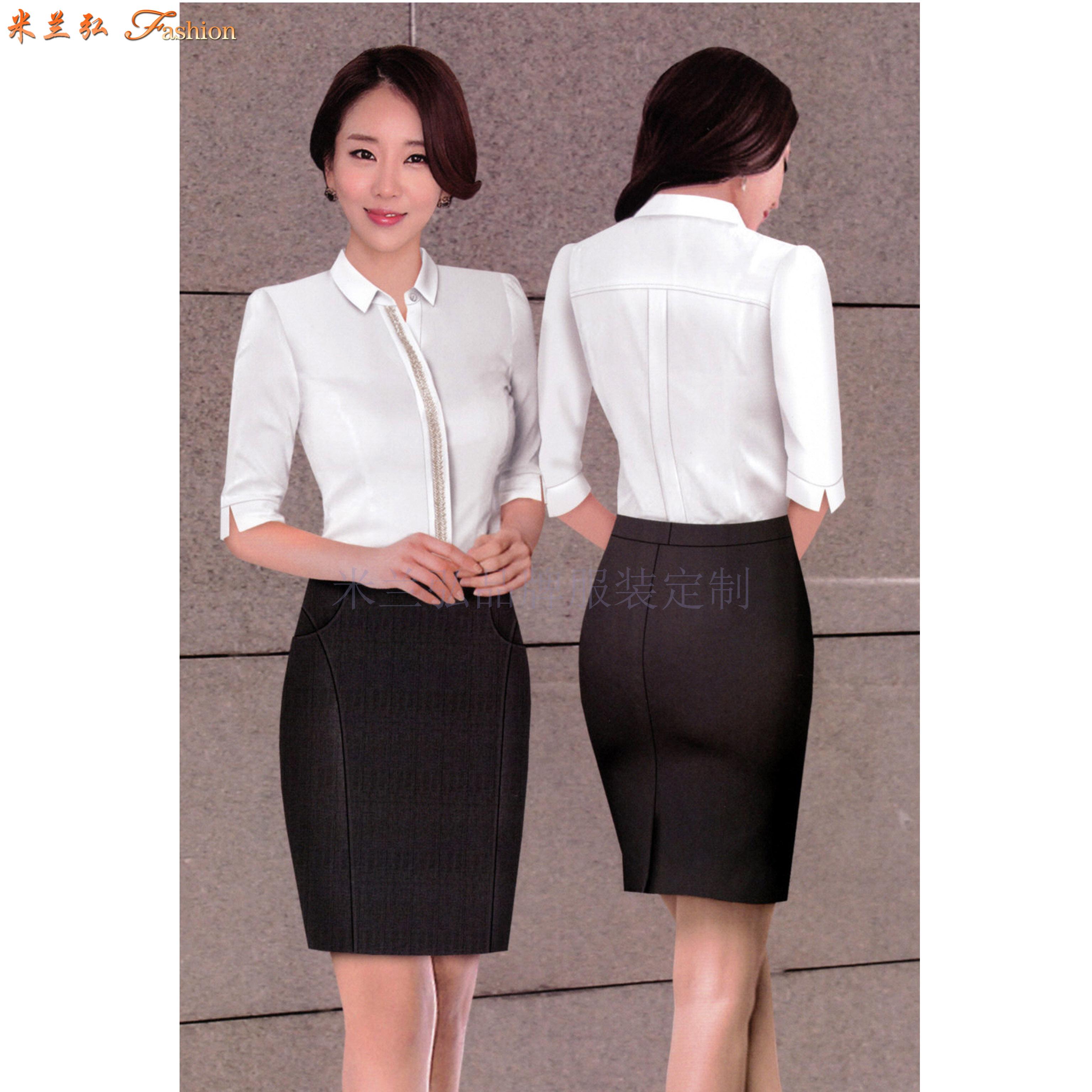 「襯衫」北京量體定制訂做免熨商務襯衫的專業廠家-米蘭弘服裝-1