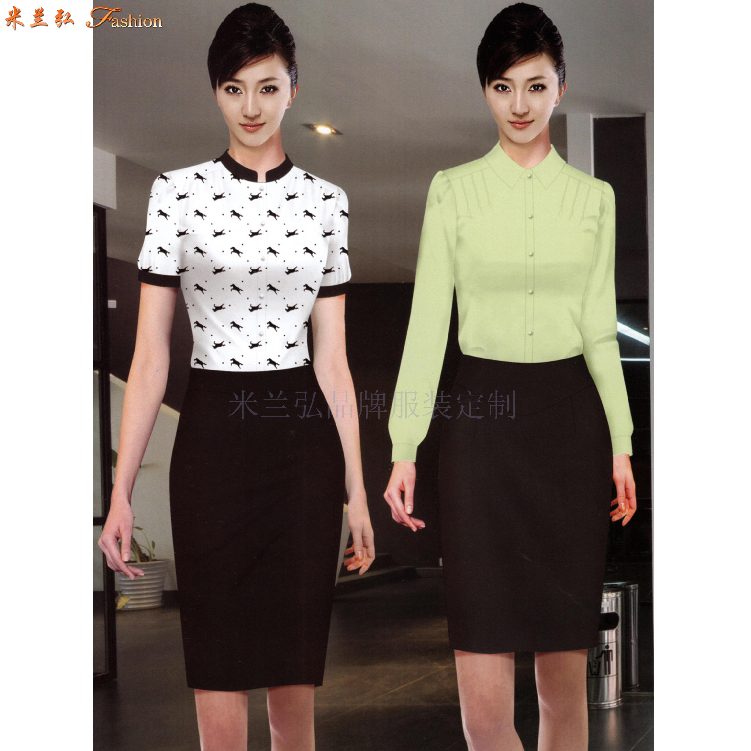 「襯衫」北京量體定制訂做免熨商務襯衫的專業廠家-米蘭弘服裝-4
