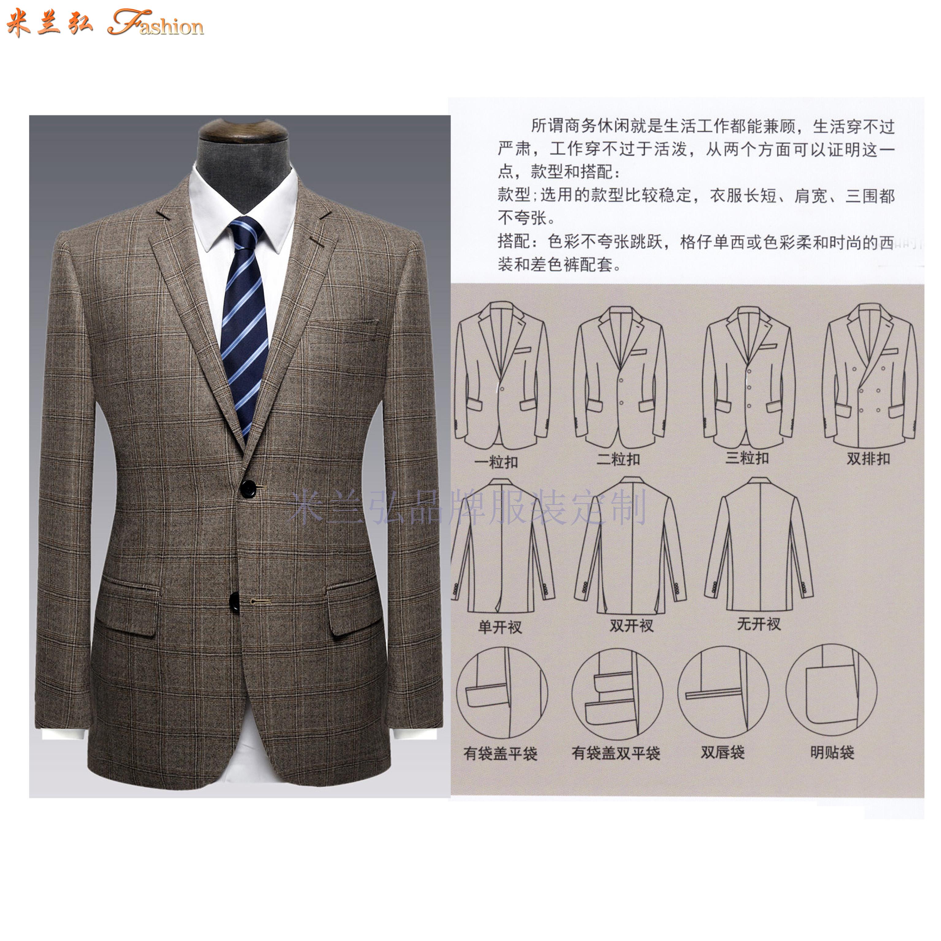 「銀川正裝定制」「賀蘭縣西裝訂制」推薦性價比高的米蘭弘服裝-2