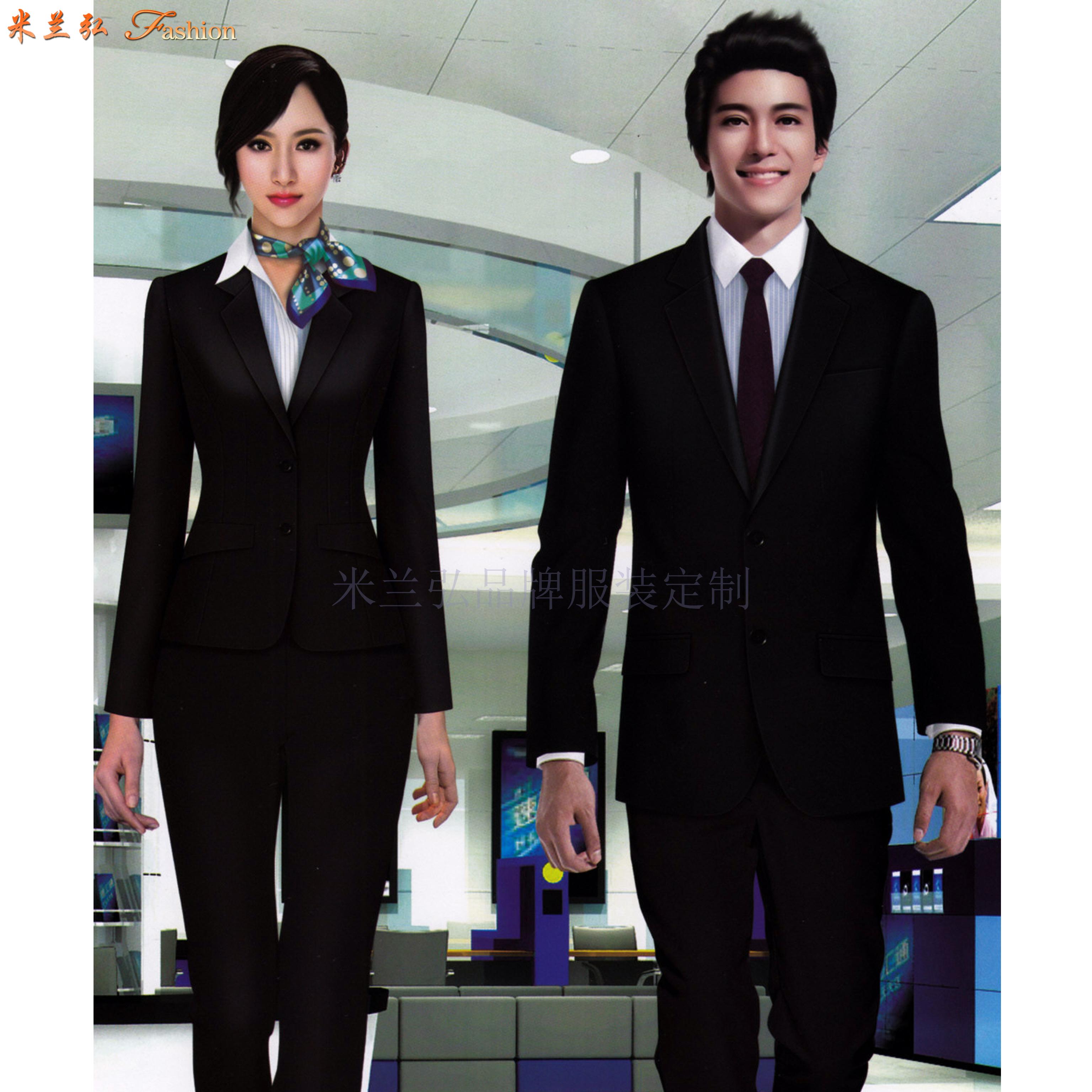 「西服」銀川量身定制商務品牌西服公司-米蘭弘服裝-1