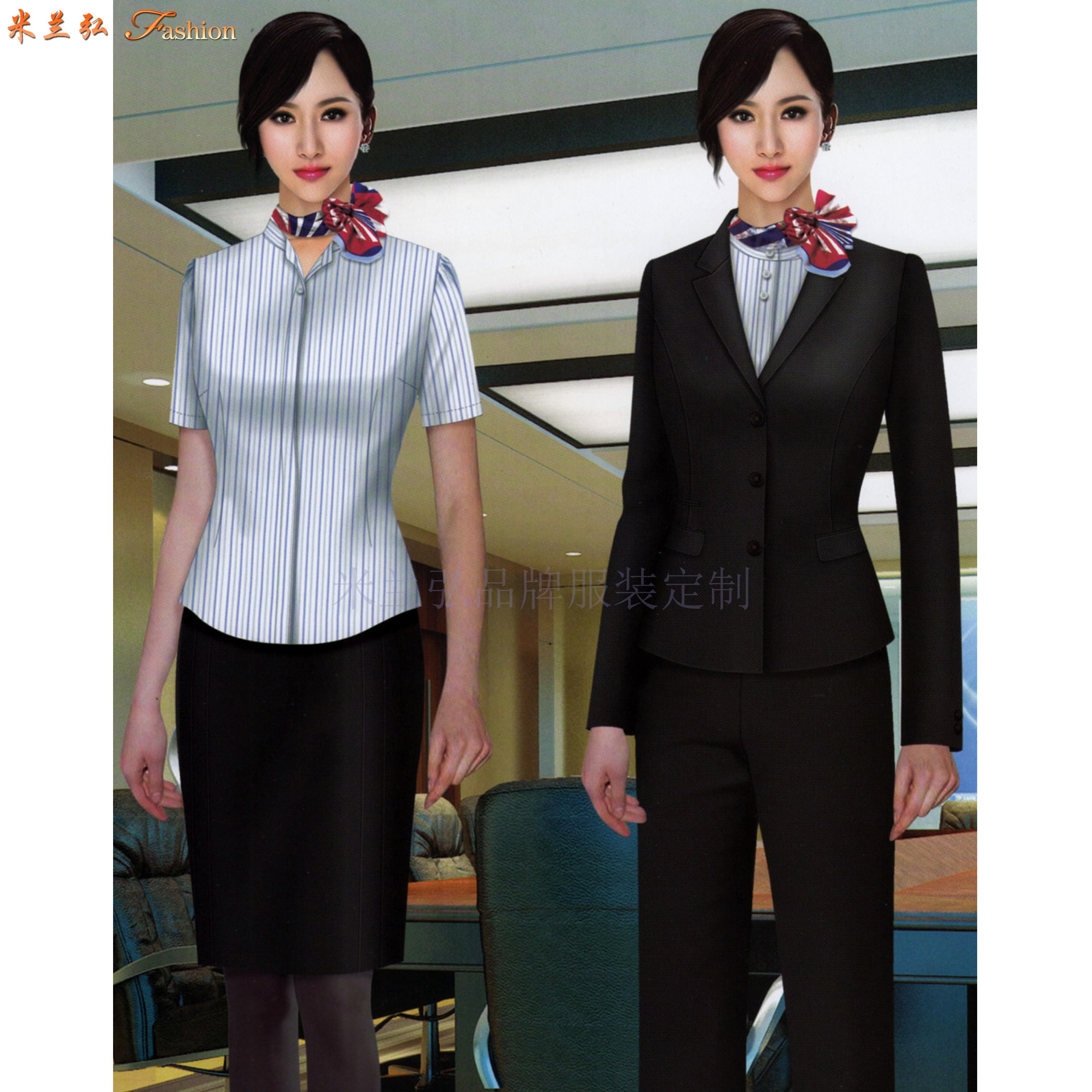 「西服」銀川量身定制商務品牌西服公司-米蘭弘服裝-3