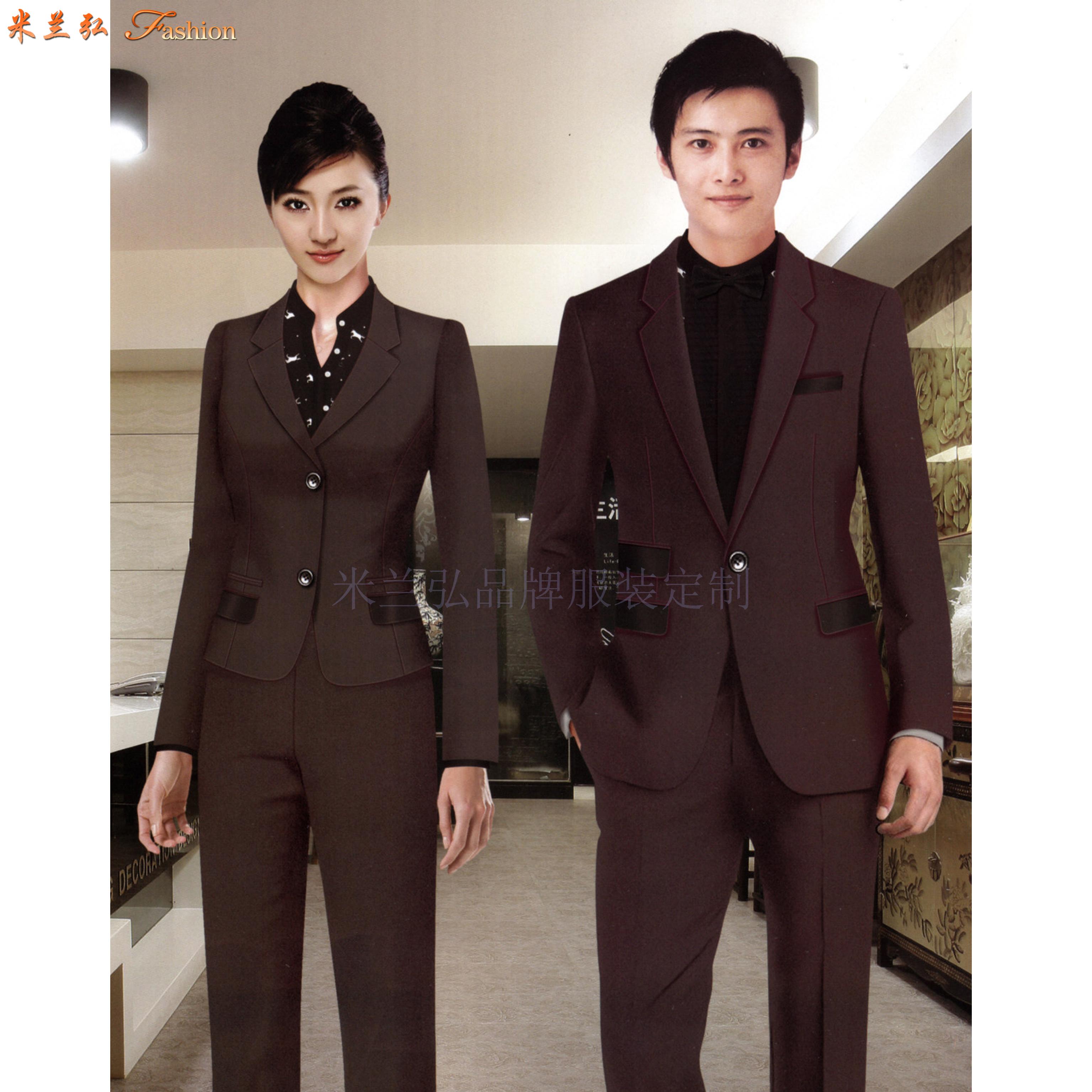 「西服」銀川量身定制商務品牌西服公司-米蘭弘服裝-5