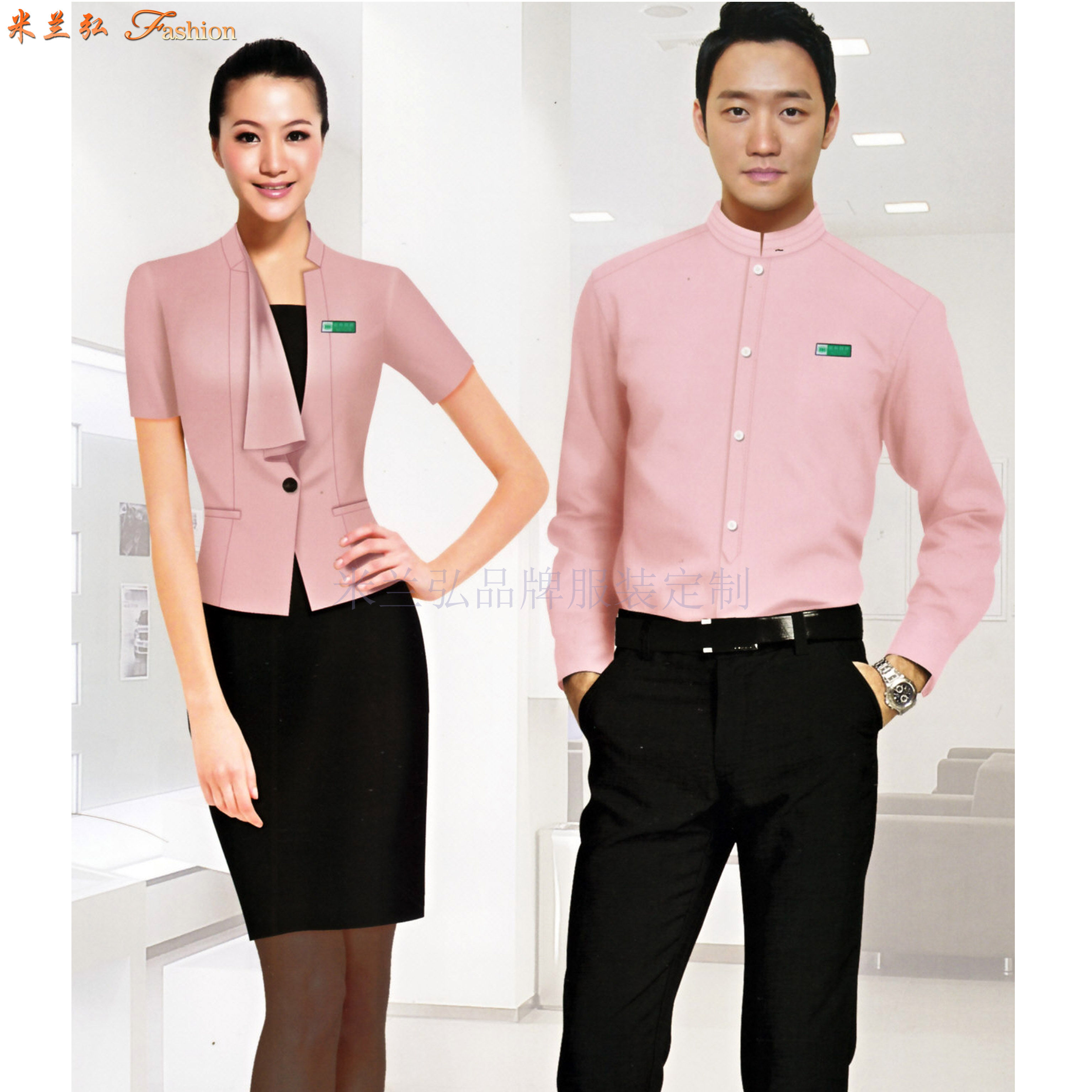 「寧夏襯衫」中衛市量身訂制職業襯衫企業-米蘭弘服裝-1