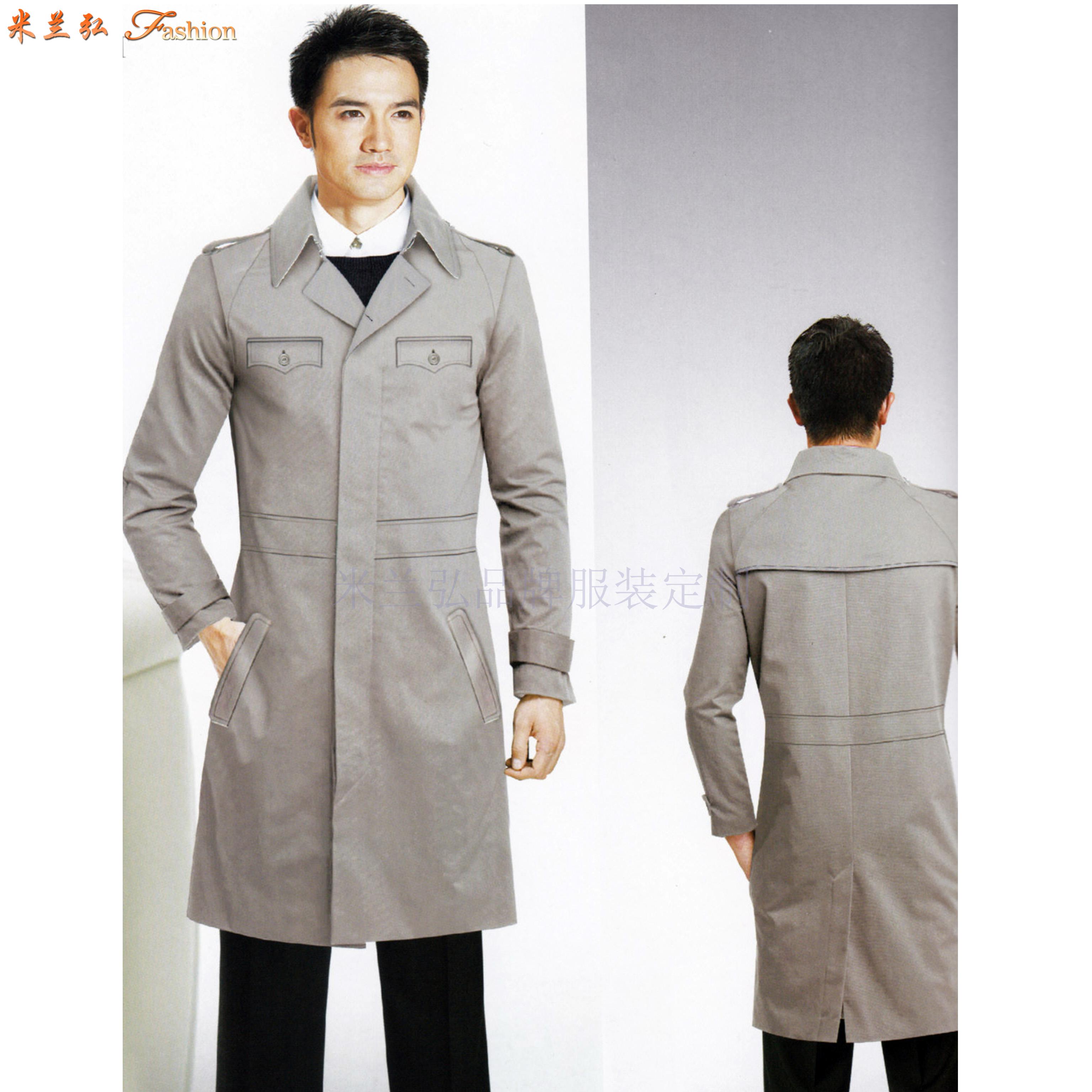 「寧夏大衣」固原市量體訂做羊毛保暖大衣工廠-米蘭弘服裝-2