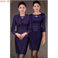 「寧夏空姐服」吳忠市量體定做航空公司空姐服-米蘭弘服裝-1