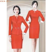 「航空職業裝」北京貨真價實航空職業裝訂做公司-米蘭弘服裝-5