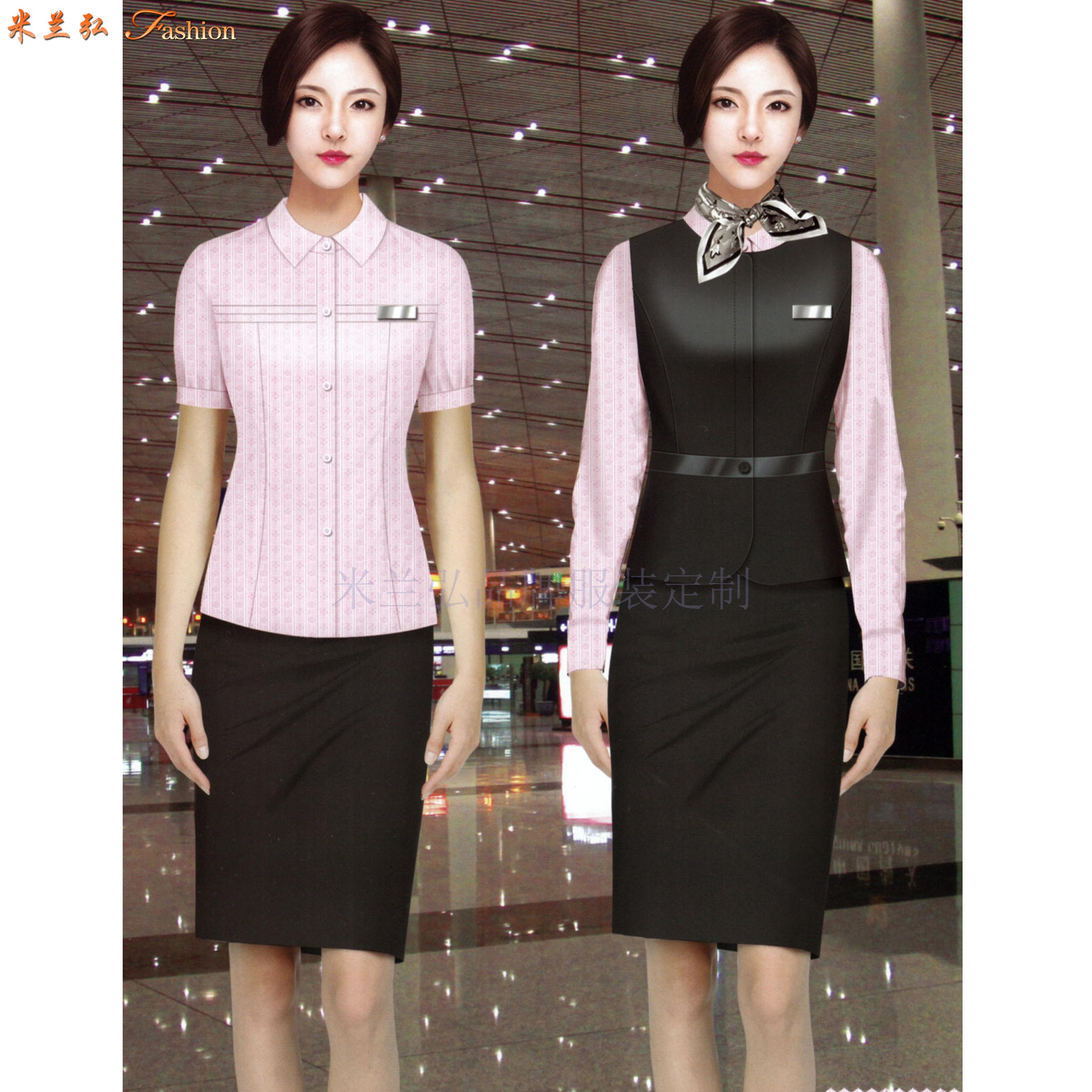 「地鐵職業裝」北京地鐵職業裝定做誠信可靠公司-米蘭弘服裝-3