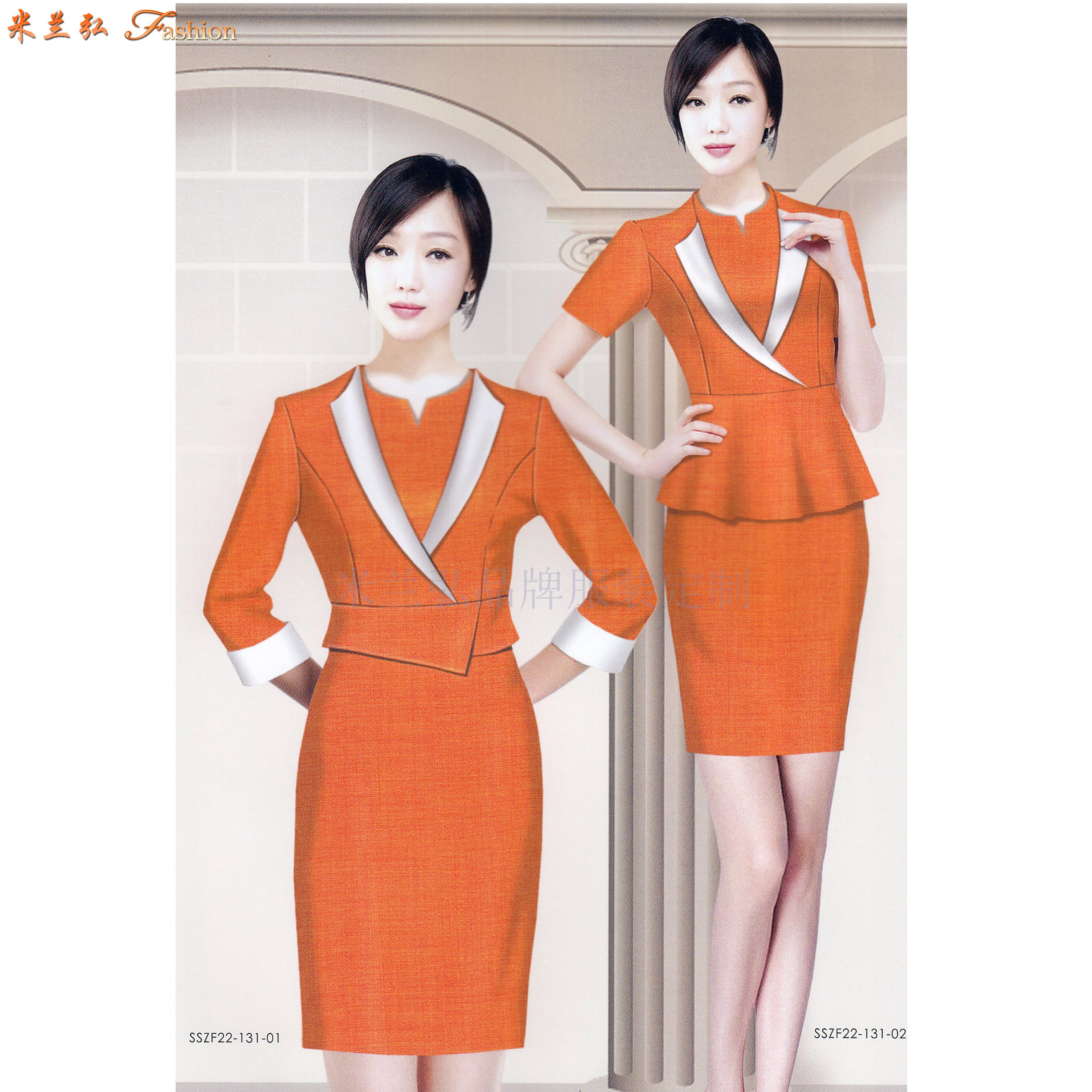 「地鐵職業裝」北京地鐵職業裝定做誠信可靠公司-米蘭弘服裝-5