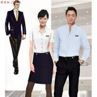 「襯衫搭配」廠家直銷男士女士工作服襯衫搭配款式-米蘭弘服裝-3