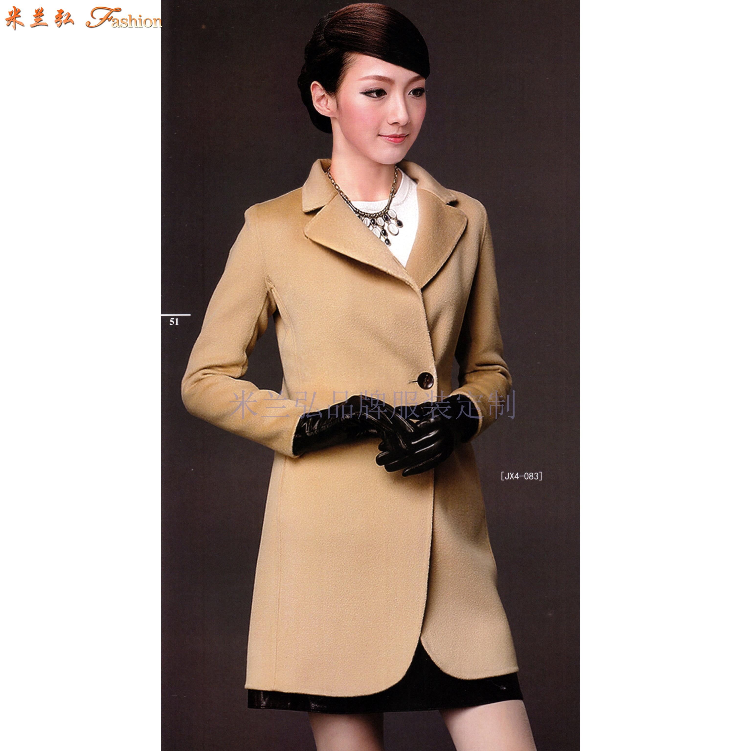 「河北大衣定制」「保定市大衣訂做」推薦厚實暖和米蘭弘服裝-3