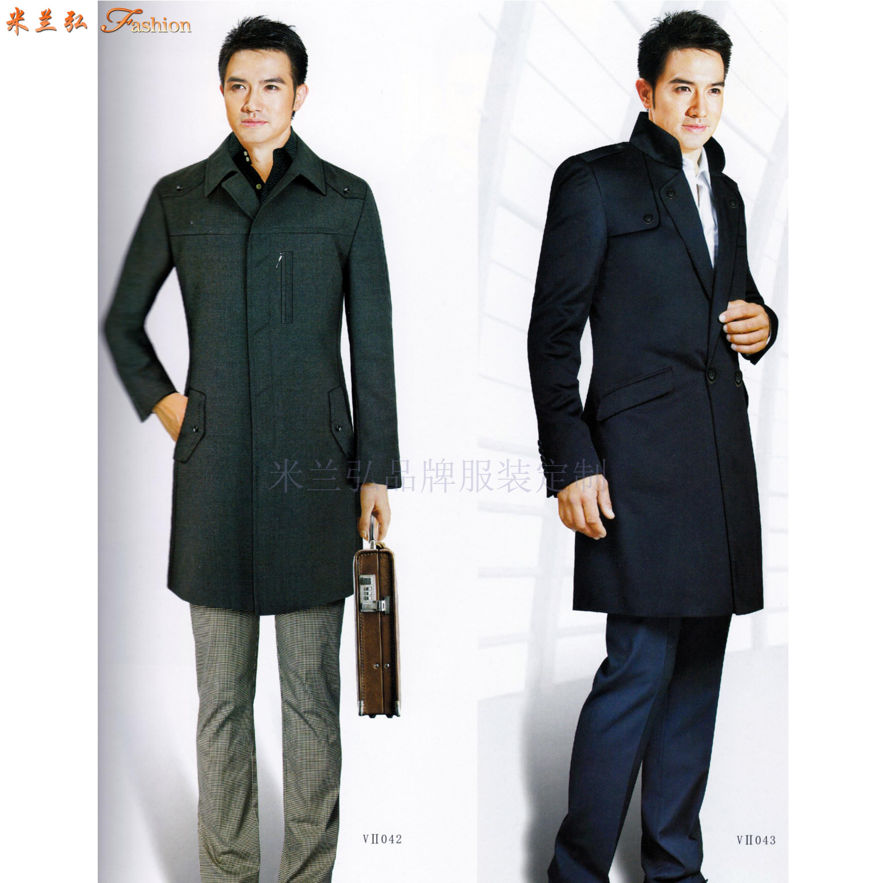 「山東大衣定制」「煙臺市大衣訂做」厚實暖和-米蘭弘服裝-4