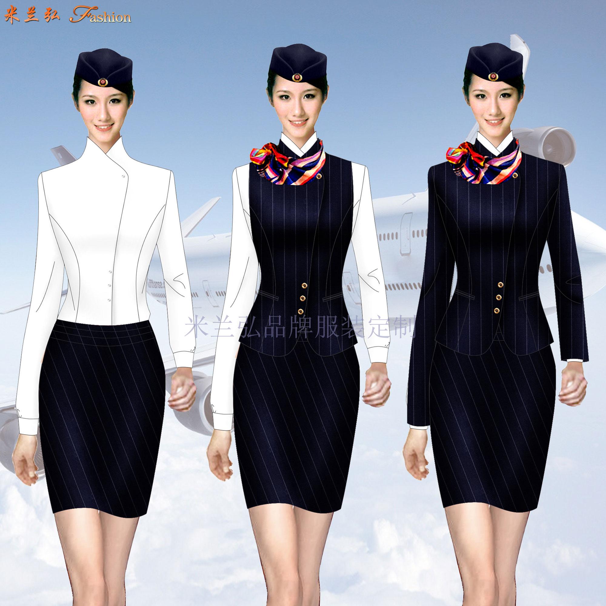 「空姐服」北京量體定制潮流空姐服的誠信公司-米蘭弘服裝