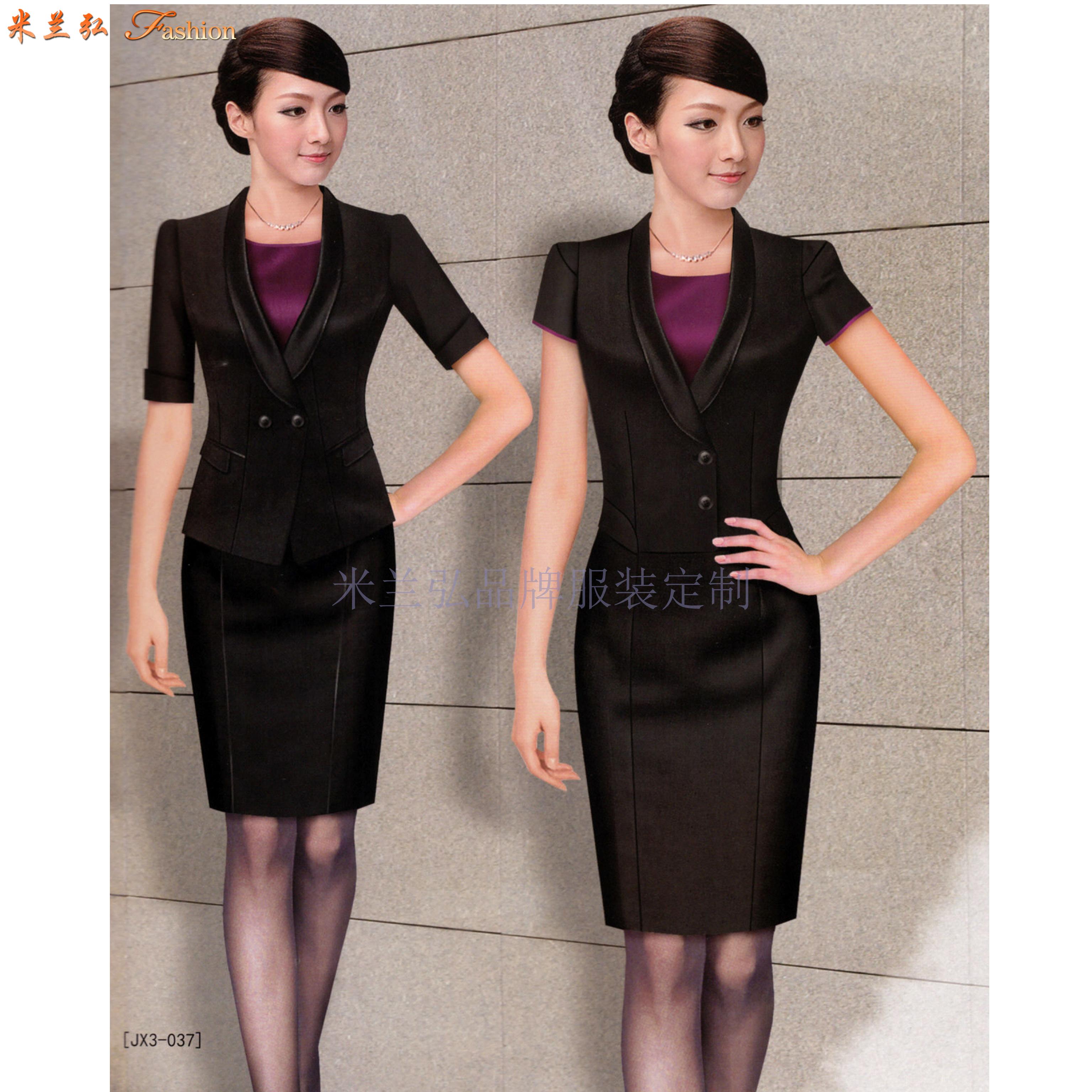 「泰安市夏季職業裝定制」專業定做夏天服裝-米蘭弘服裝-1