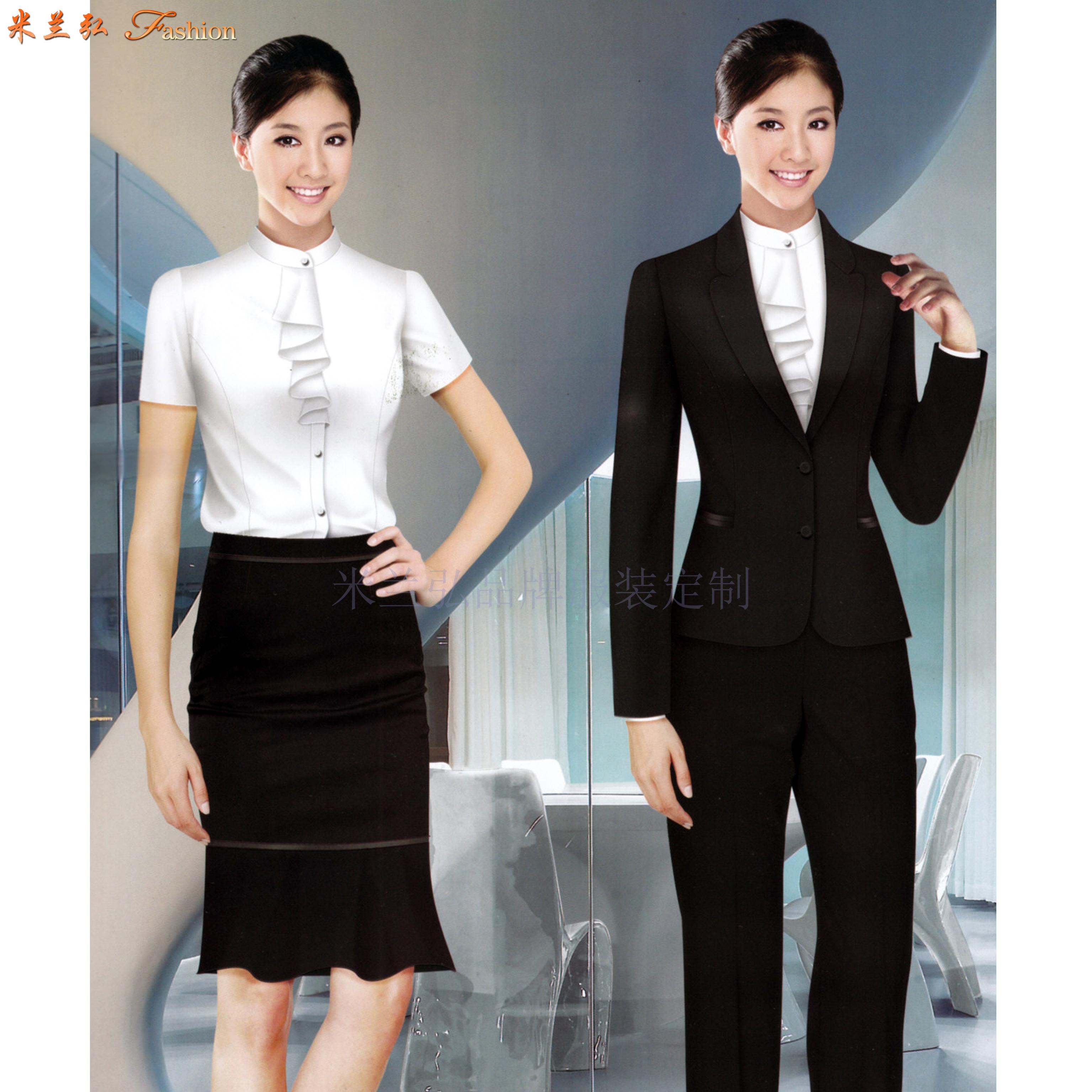 「北京西服定制团购」专业订制企事业单位正装西服-米兰弘服装-4