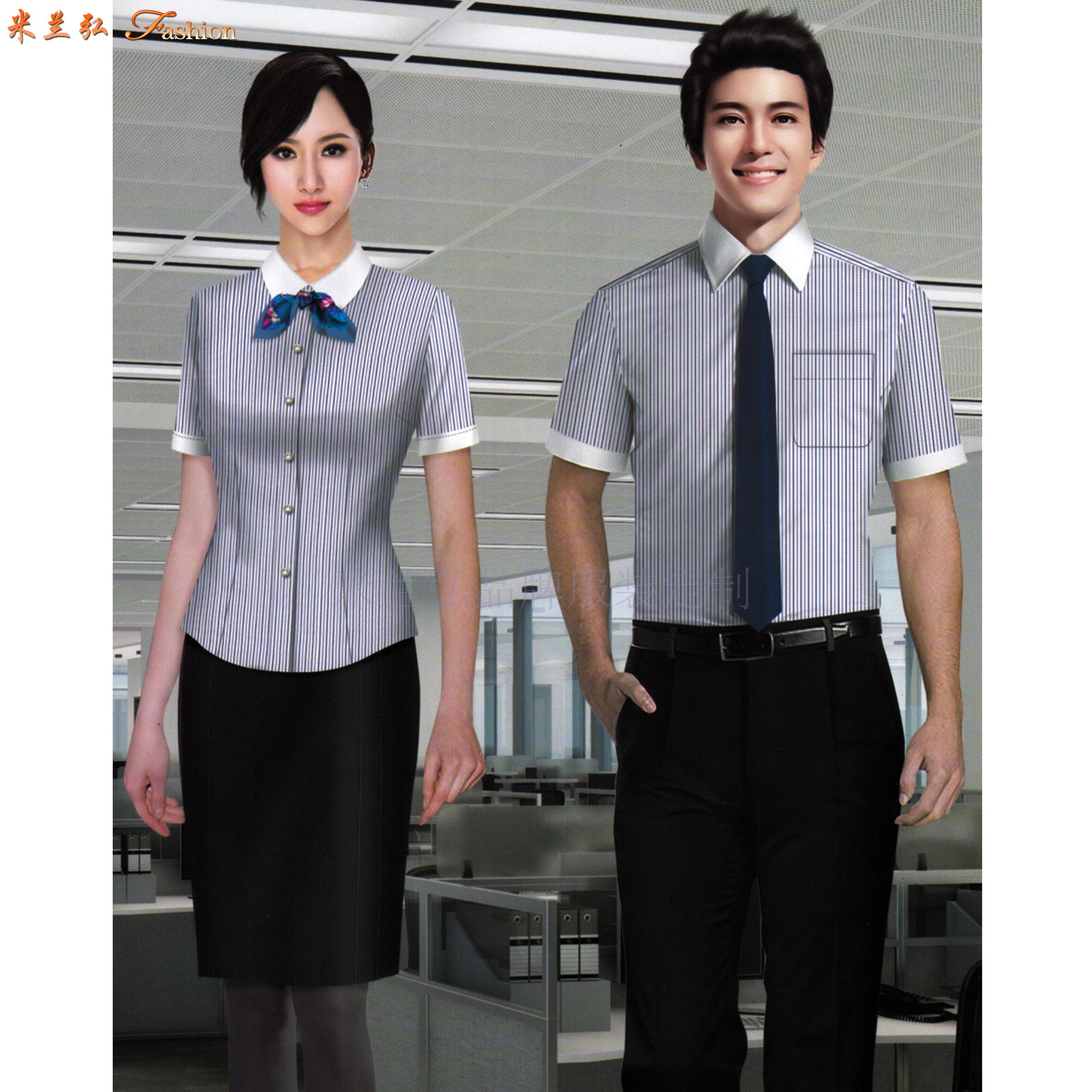 天水襯衫定制廠家-物超所值-米蘭弘服裝-1