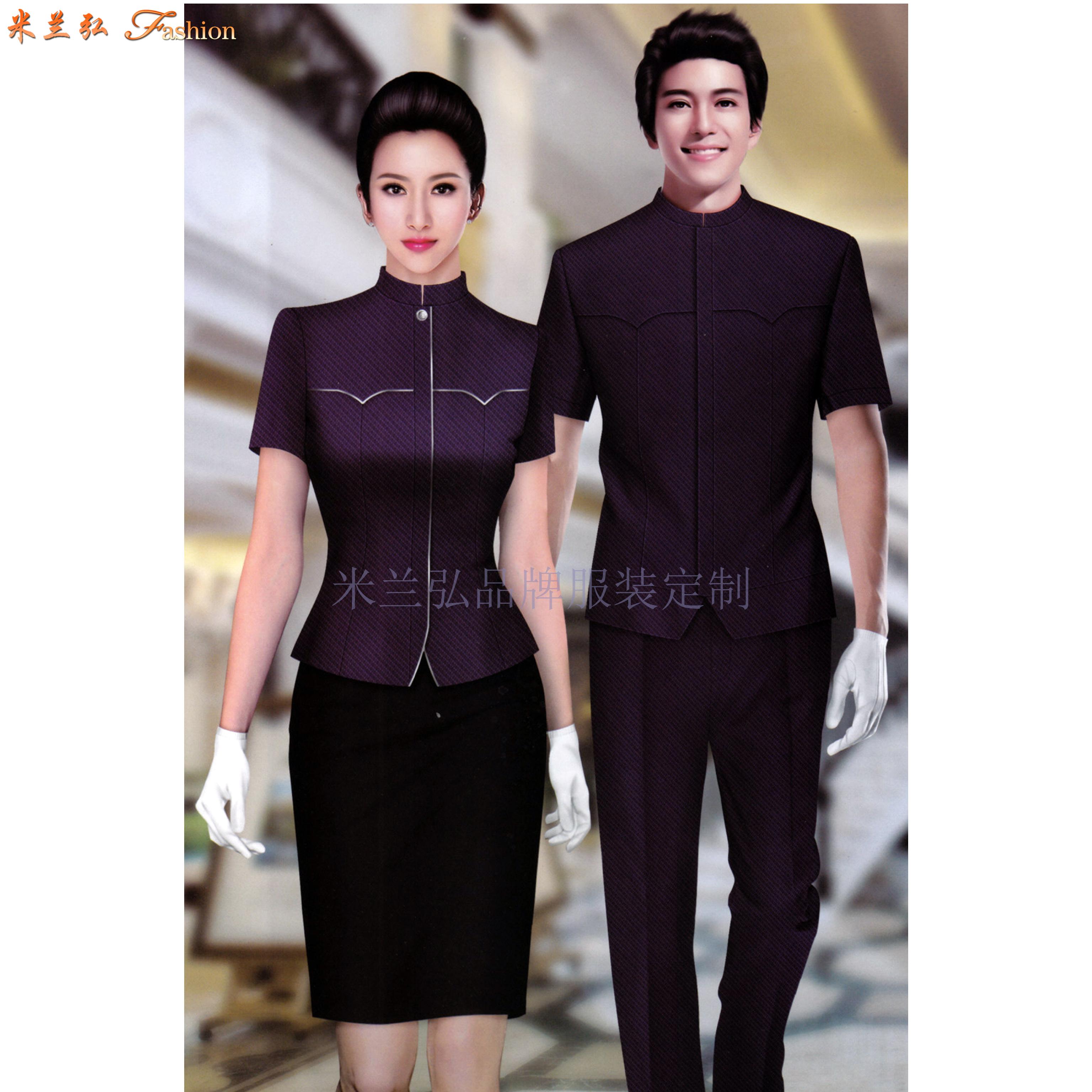 平涼酒店制服訂做-新穎潮流-米蘭弘服裝-4