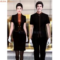 平涼酒店制服訂做-新穎潮流-米蘭弘服裝-1