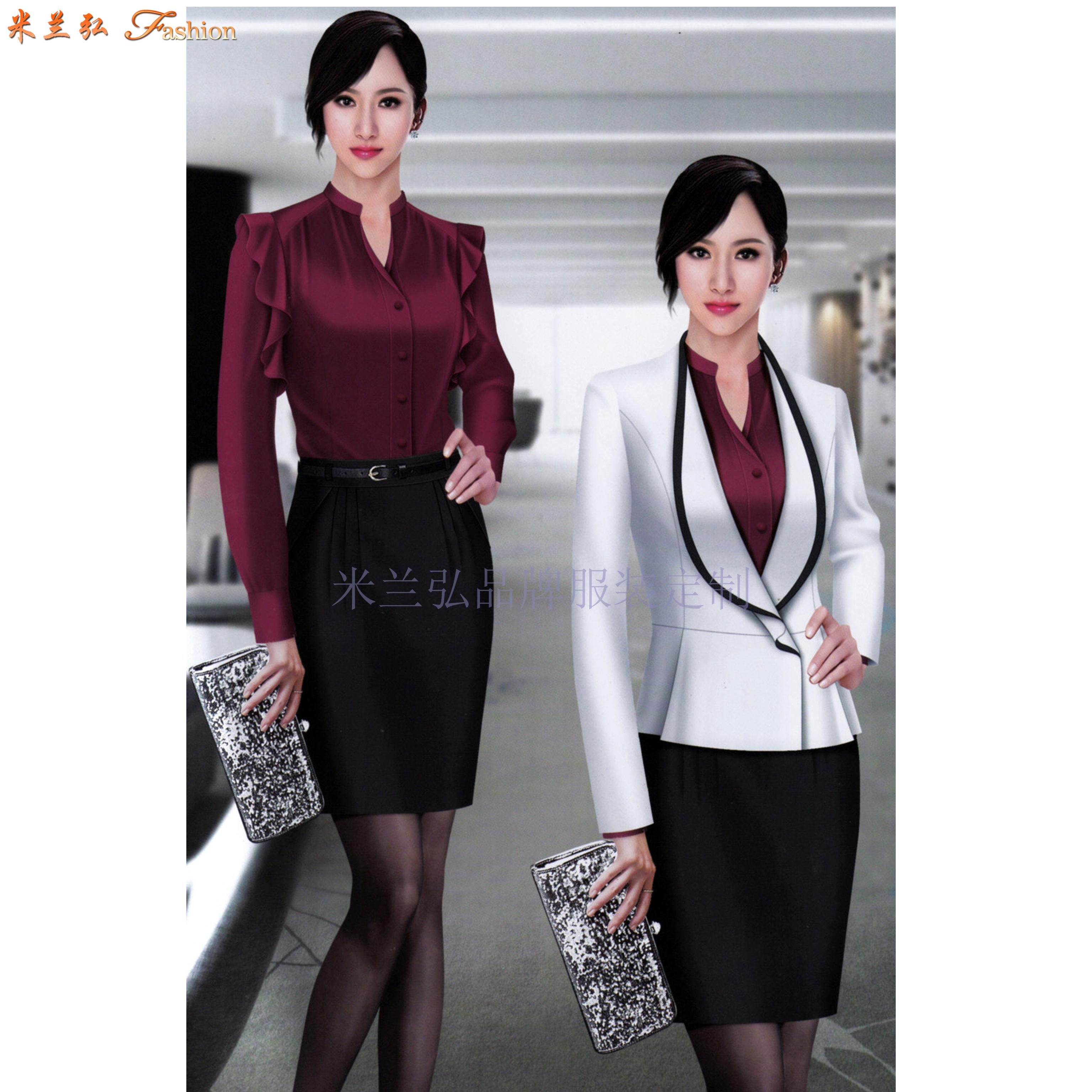 「北京服裝定制」廠家直供-米蘭弘服裝-3