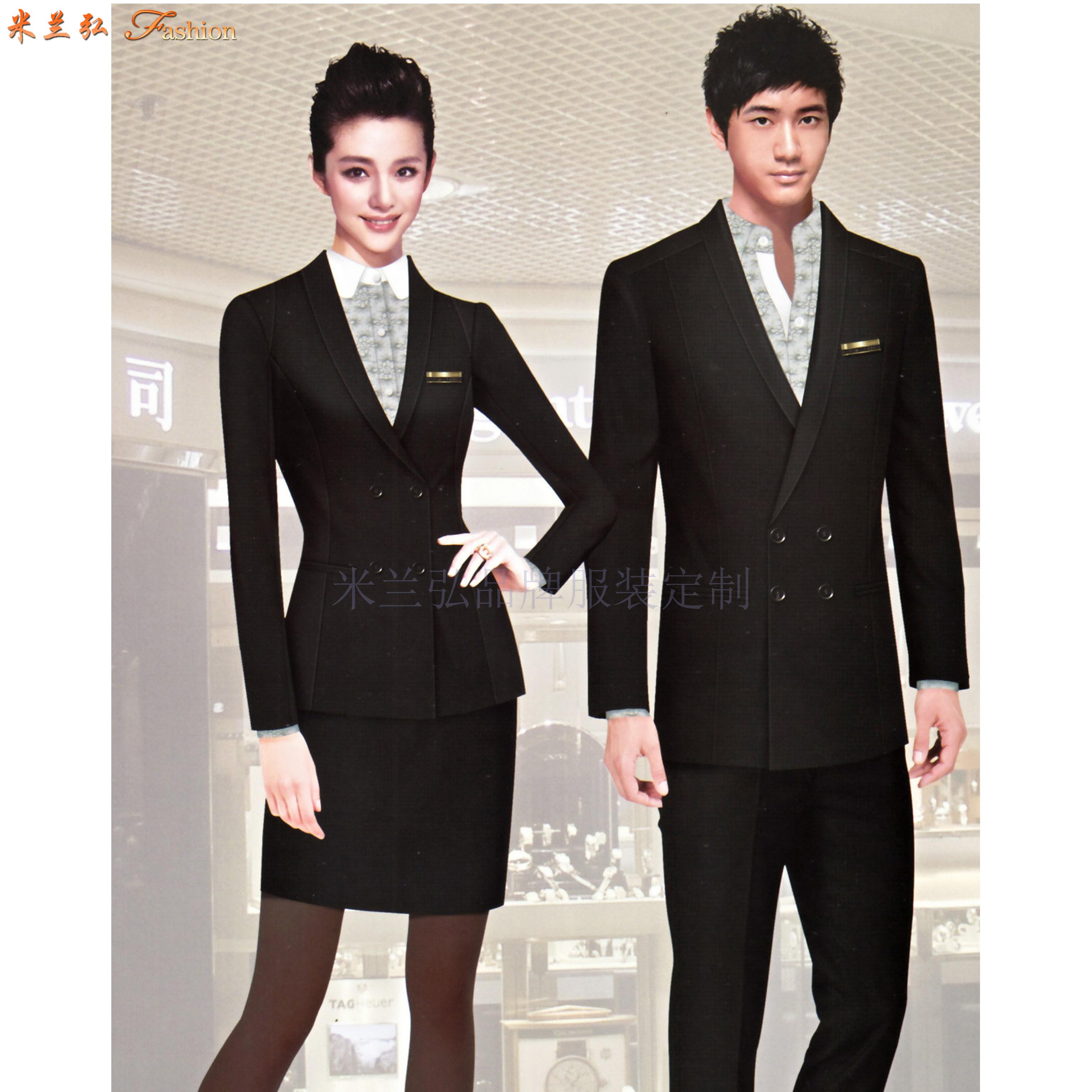 「咸陽職業裝訂制」陜西夏季職業裝定做-米蘭弘服裝-5