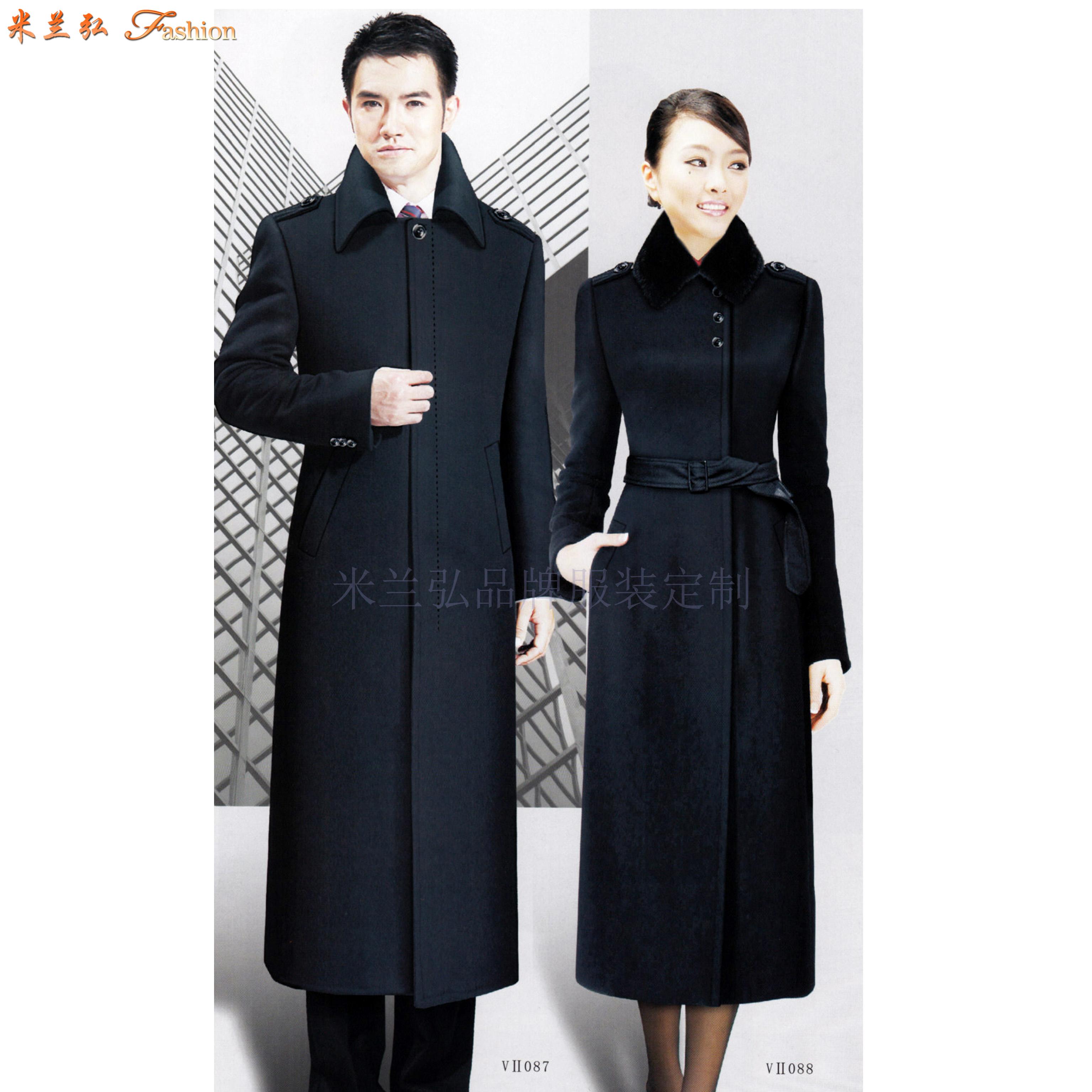 「渭南大衣定制」陜西保暖雙層大衣訂制-米蘭弘服裝-5