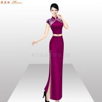 「商洛旗袍定制」陜西量身定制旗袍款式-米蘭弘服裝-3