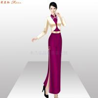 「商洛旗袍定制」陜西量身定制旗袍款式-米蘭弘服裝-4