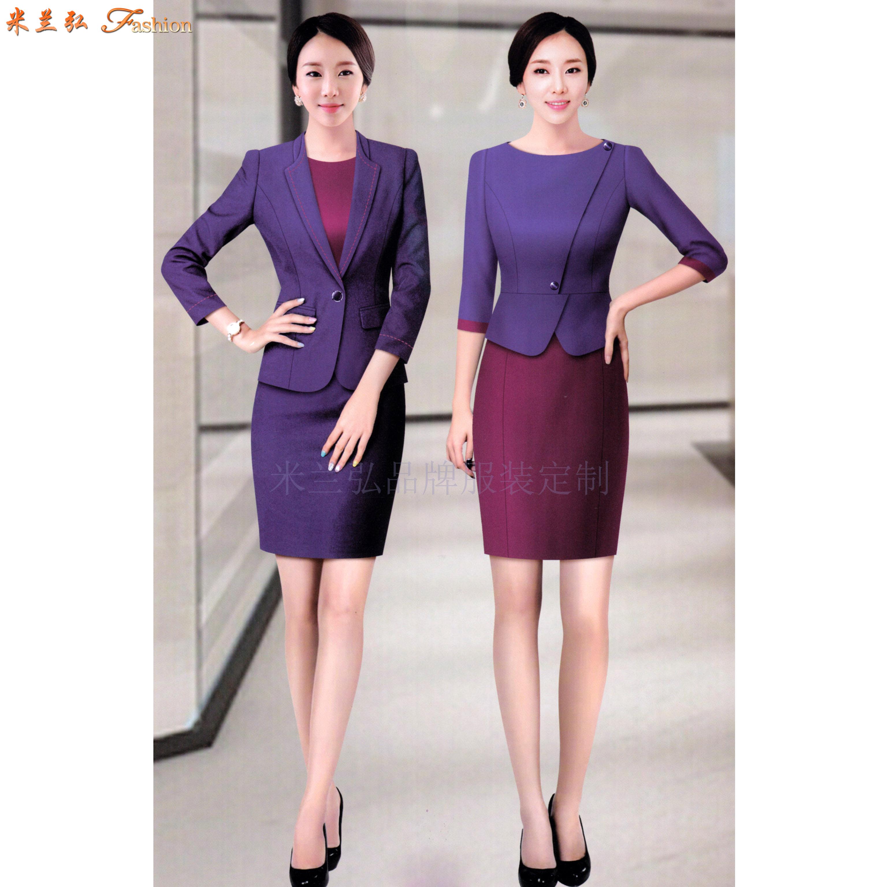 北京品牌西服定制-訂做時尚大氣西服-米蘭弘服裝-3