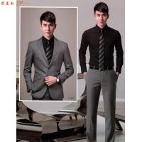 北京品牌西服定制-訂做時尚大氣西服-米蘭弘服裝-5