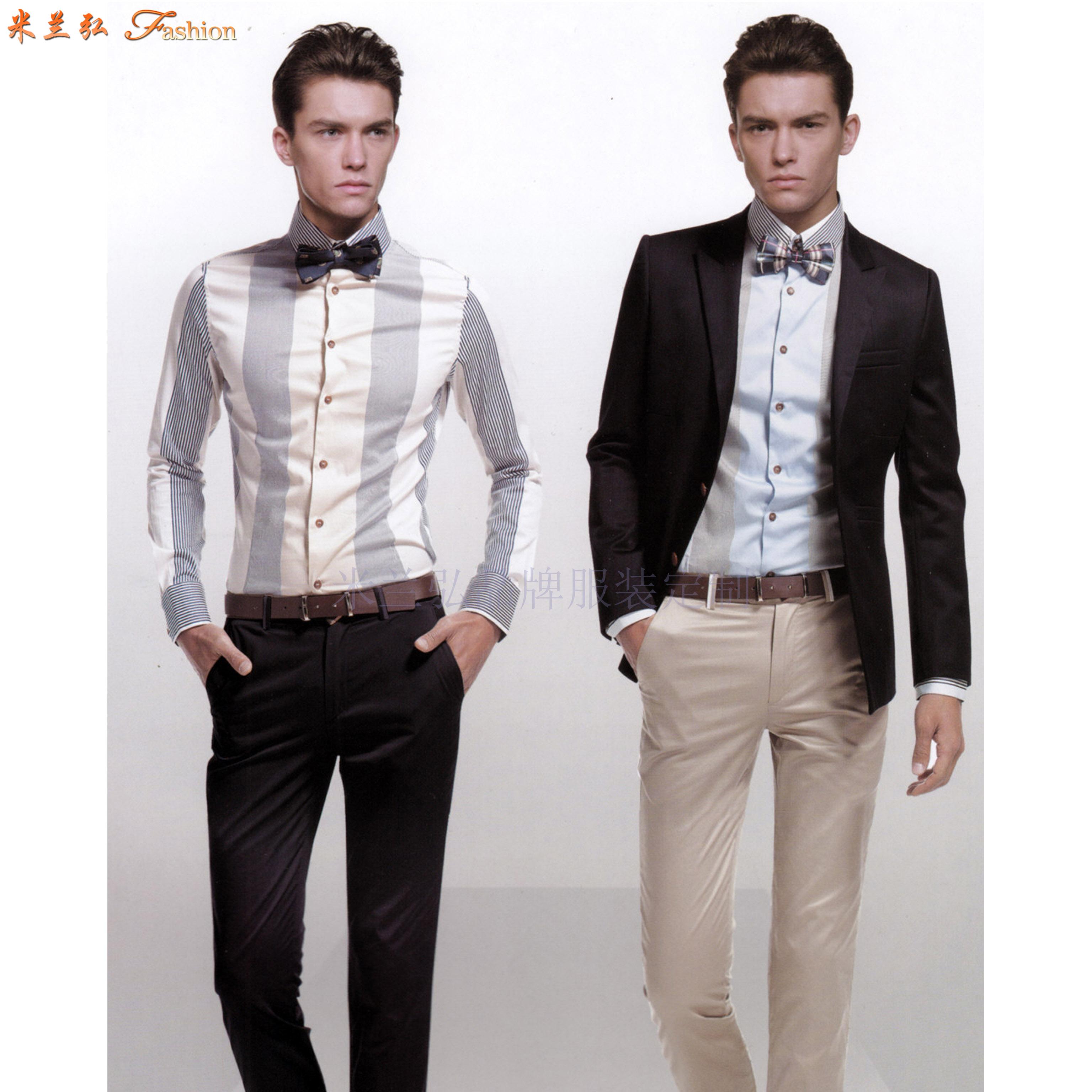 北京定制職業裝-訂做新穎潮流職業裝-米蘭弘服裝-3