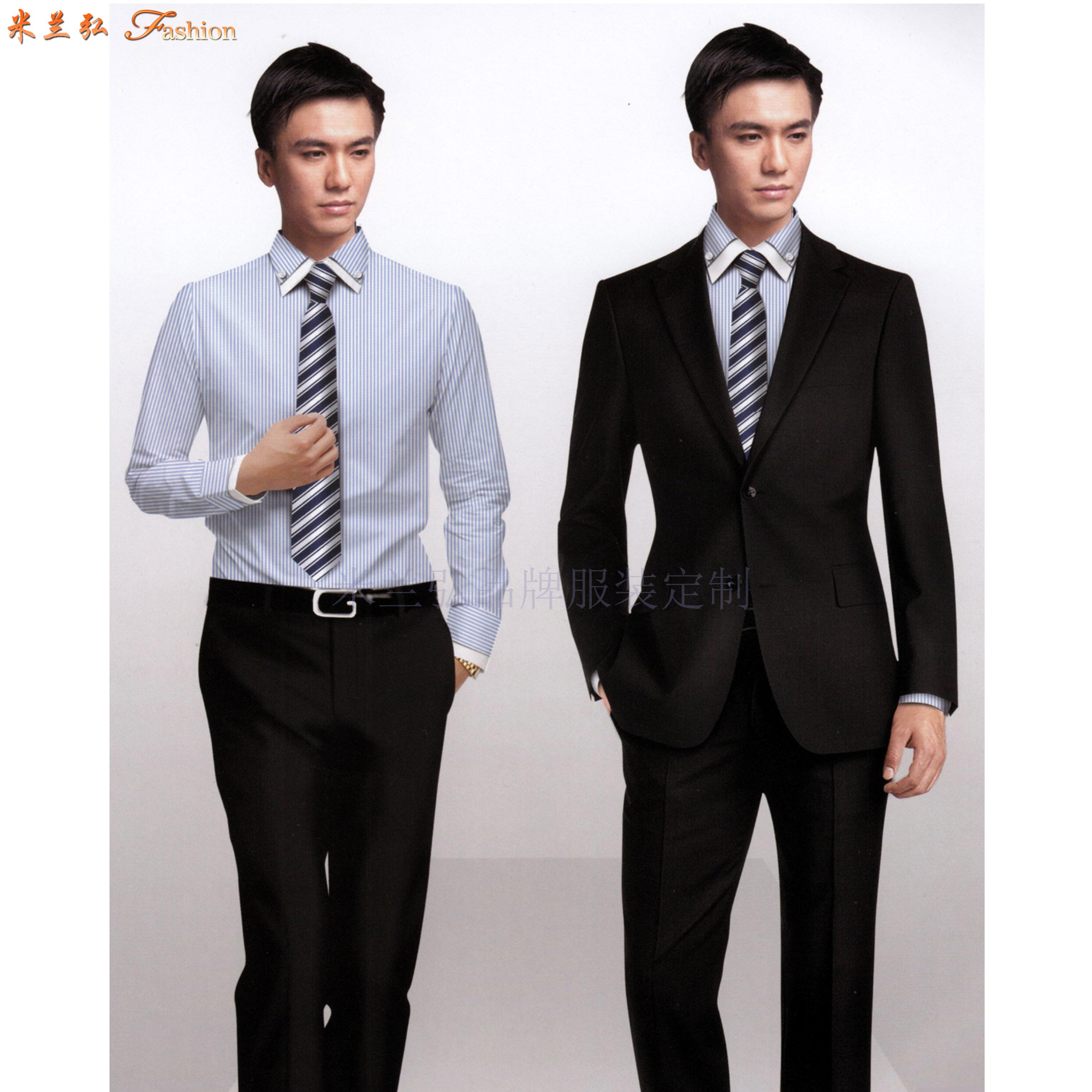 北京定制職業裝-訂做新穎潮流職業裝-米蘭弘服裝-4