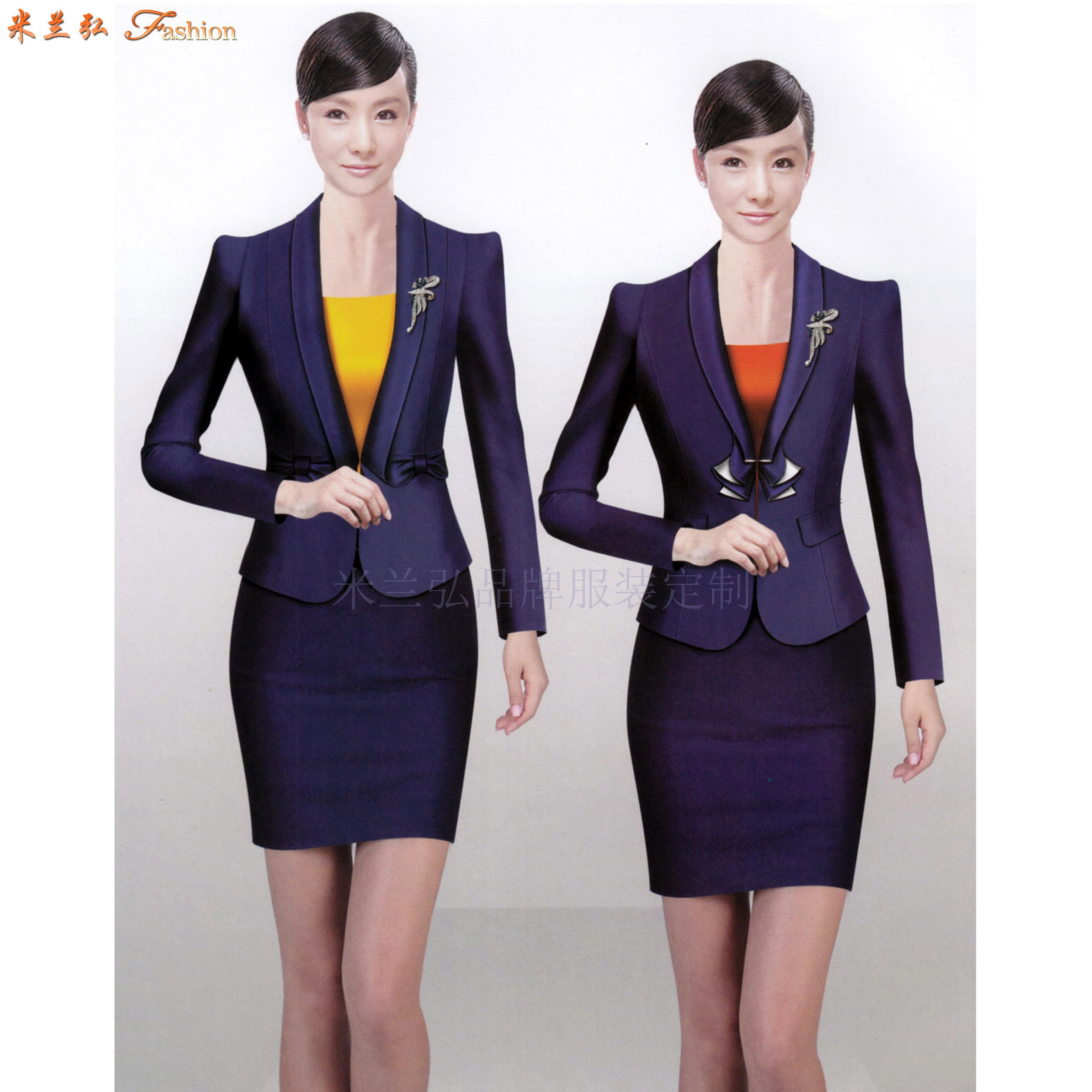 北京定制職業裝-訂做新穎潮流職業裝-米蘭弘服裝-1