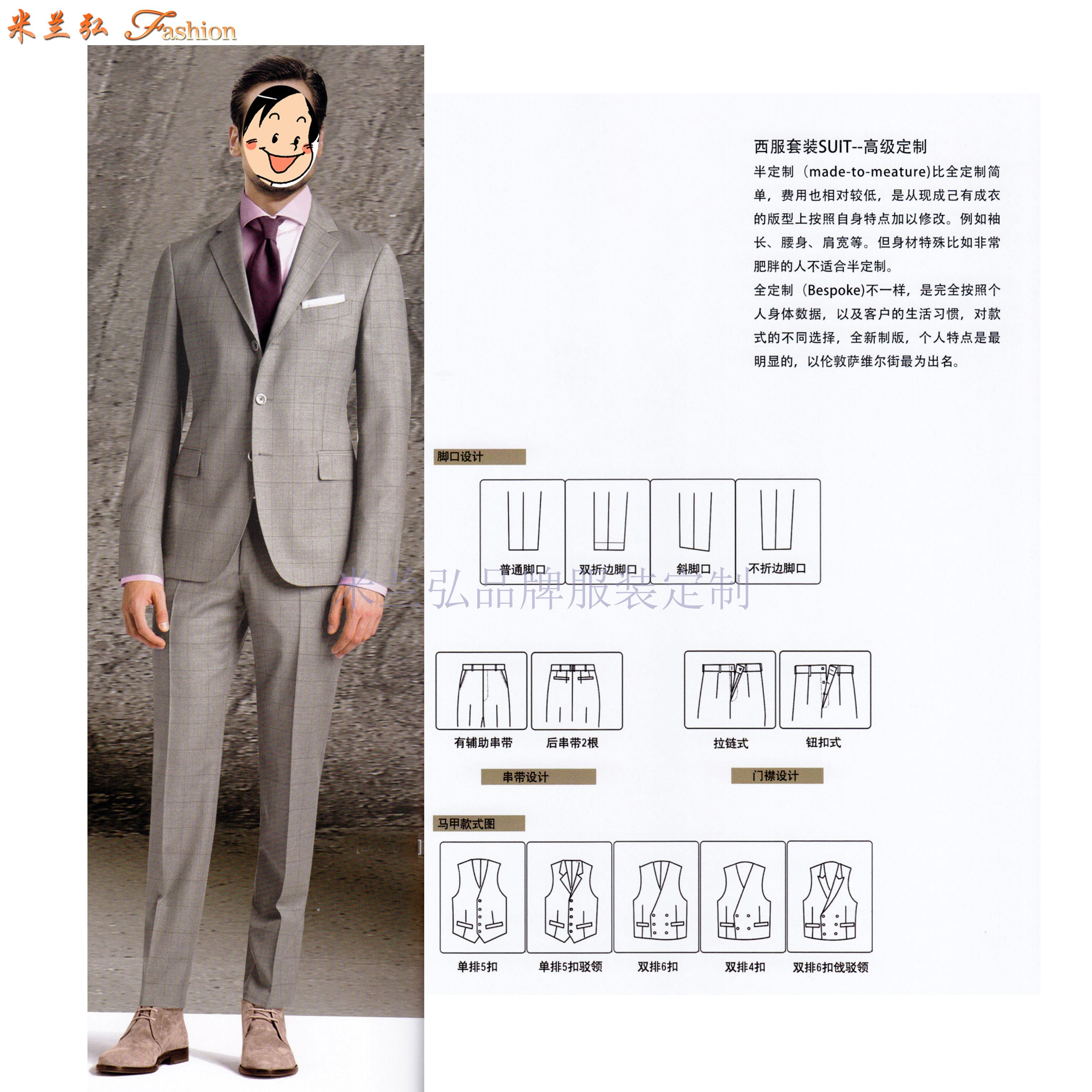 廣東西服定制-廣東量身訂制西服品牌-米蘭弘服裝-1